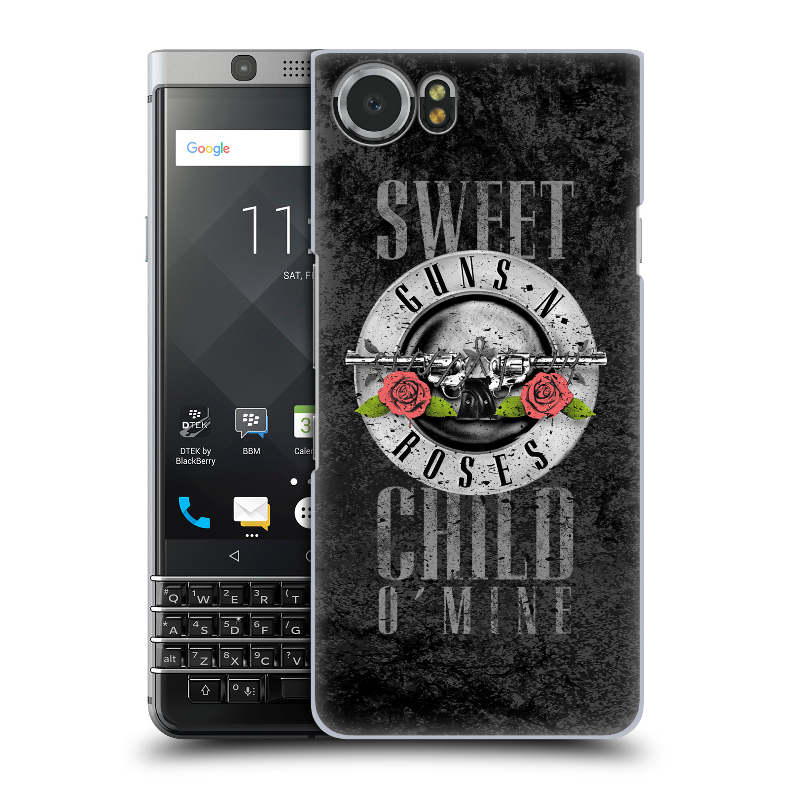 Plastové pouzdro na mobil BlackBerry KEYone - Head Case - Guns N' Roses - Sweet Child