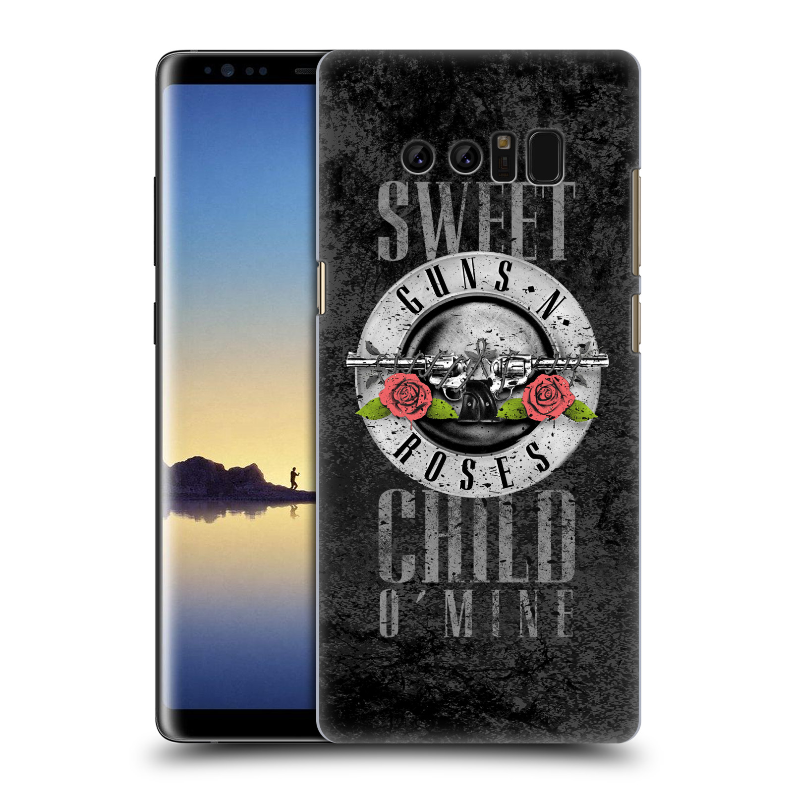 Plastové pouzdro na mobil Samsung Galaxy Note 8 - Head Case - Guns N' Roses - Sweet Child
