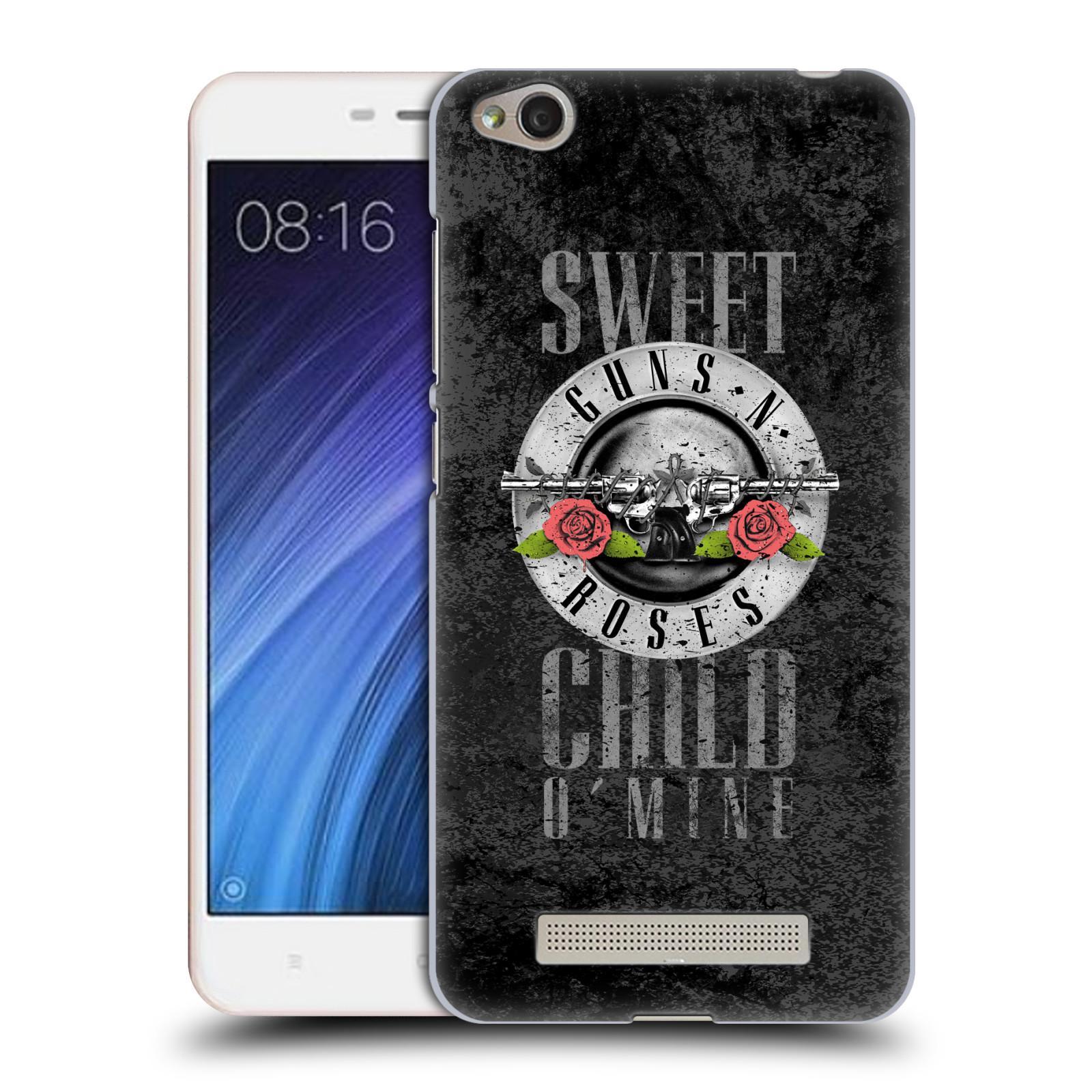 Plastové pouzdro na mobil Xiaomi Redmi 4A HEAD CASE Guns N' Roses - Sweet Child