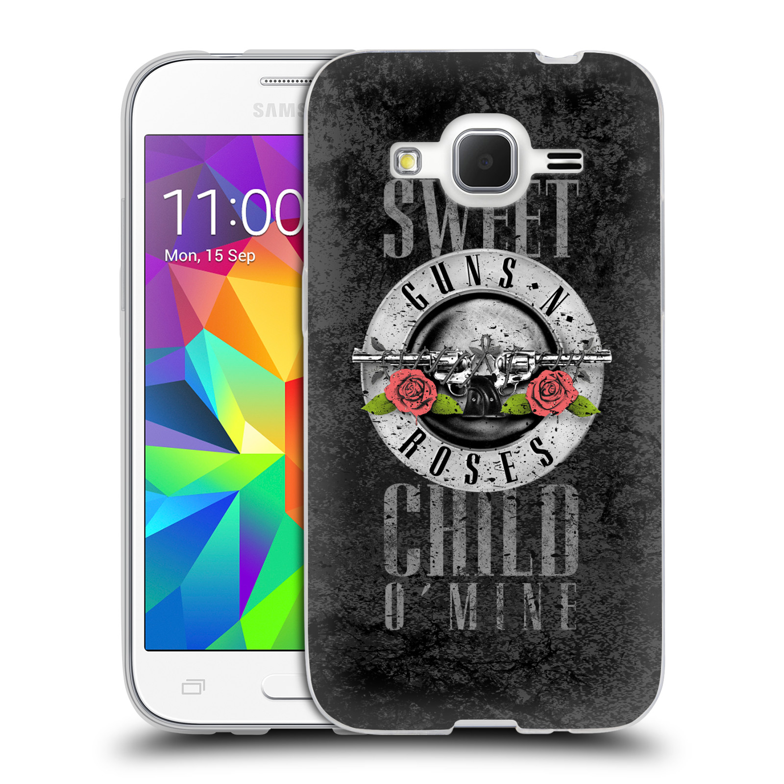 Silikonové pouzdro na mobil Samsung Galaxy Core Prime LTE HEAD CASE Guns N' Roses - Sweet Child