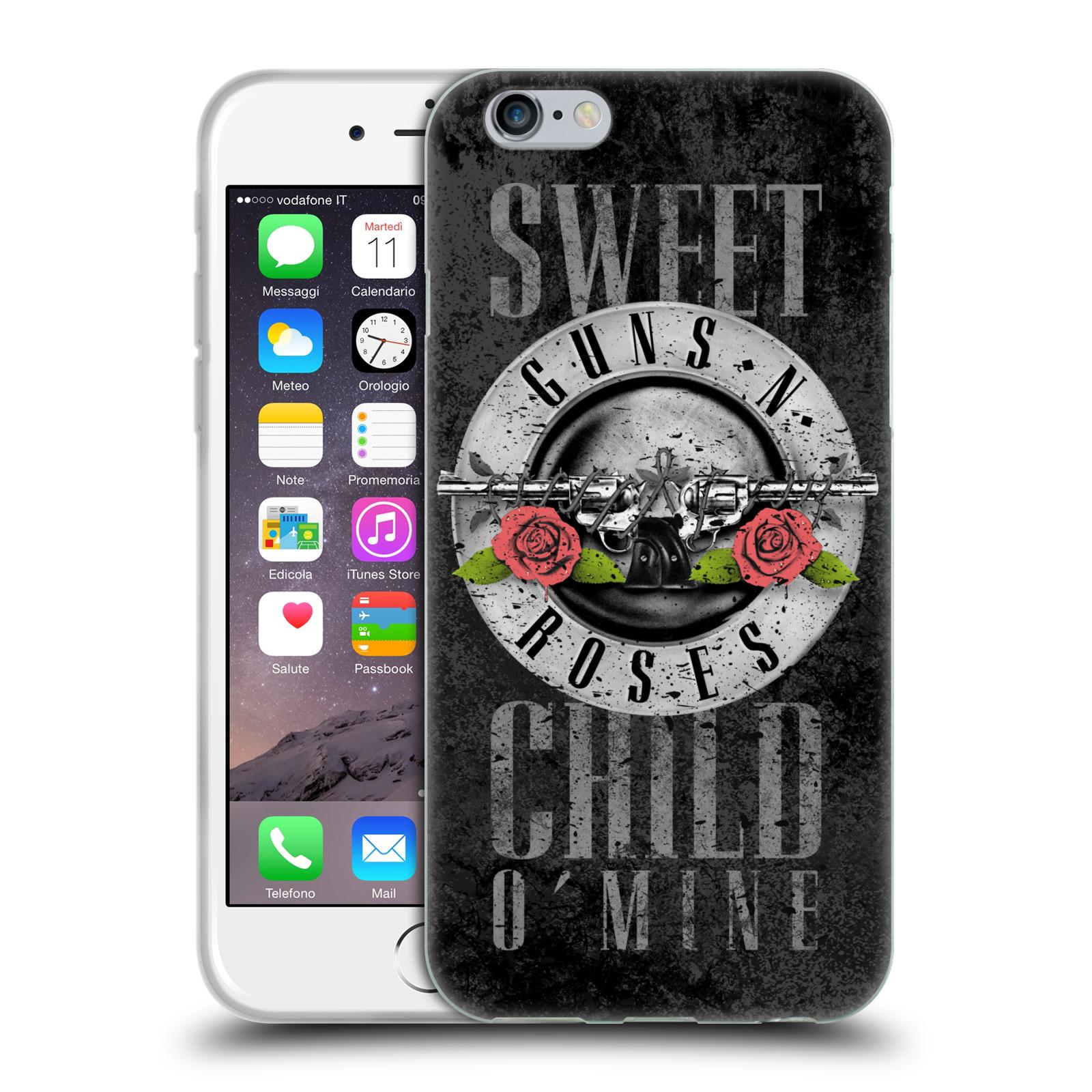 233a1b4b7 Silikonové pouzdro na mobil Apple iPhone 6 HEAD CASE Guns N' Roses - Sweet  Child
