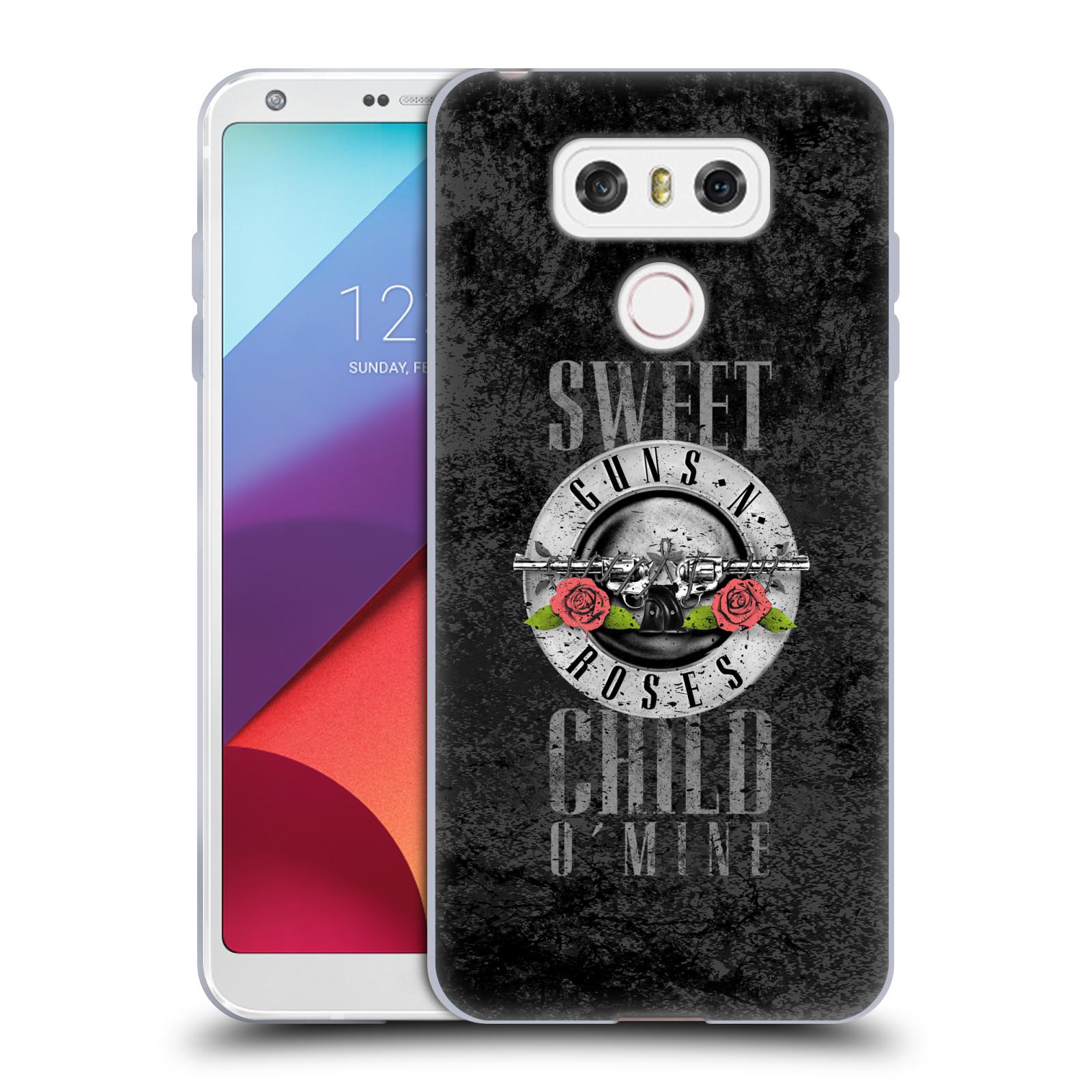 Silikonové pouzdro na mobil LG G6 - Head Case Guns N' Roses - Sweet Child