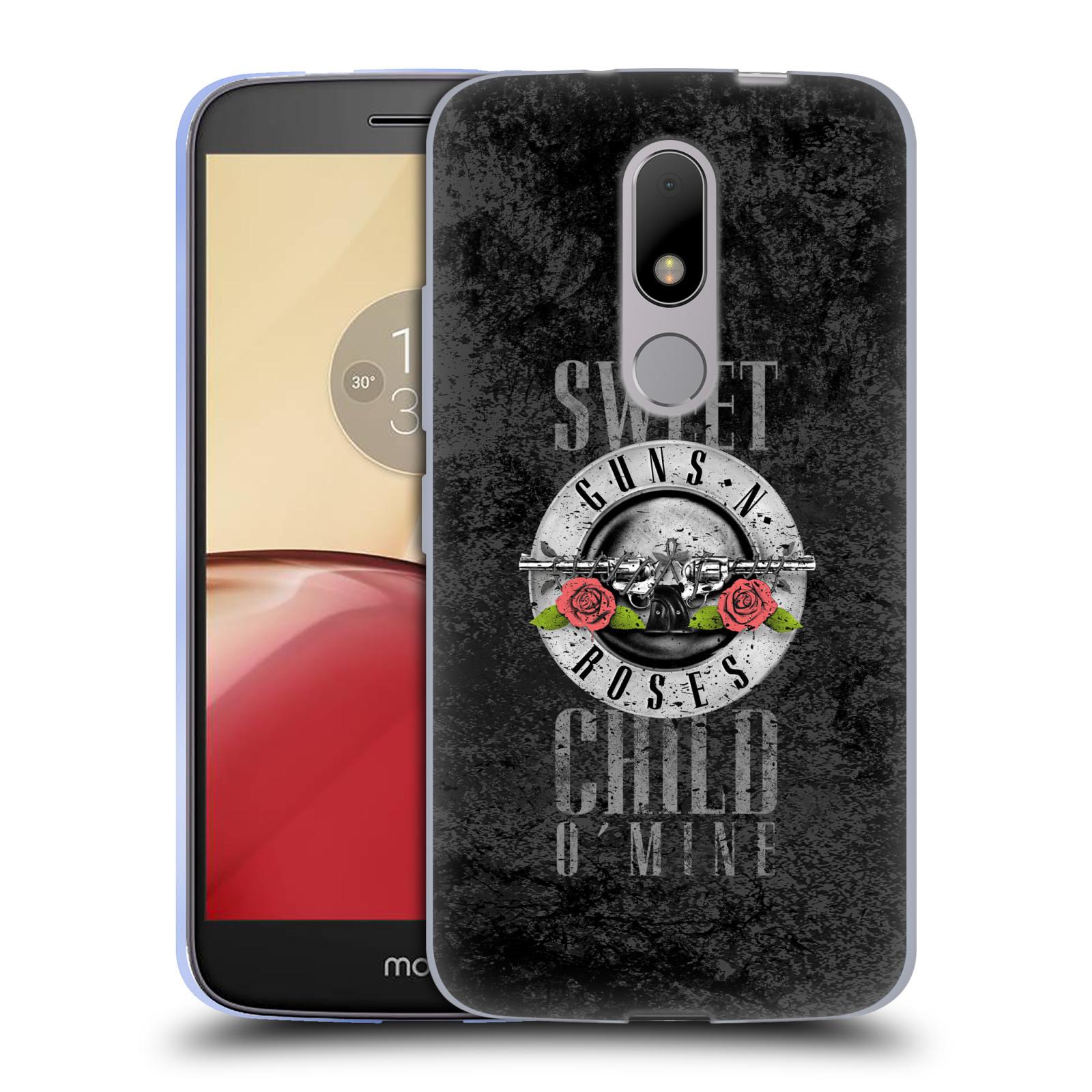 Silikonové pouzdro na mobil Lenovo Moto M - Head Case Guns N' Roses - Sweet Child