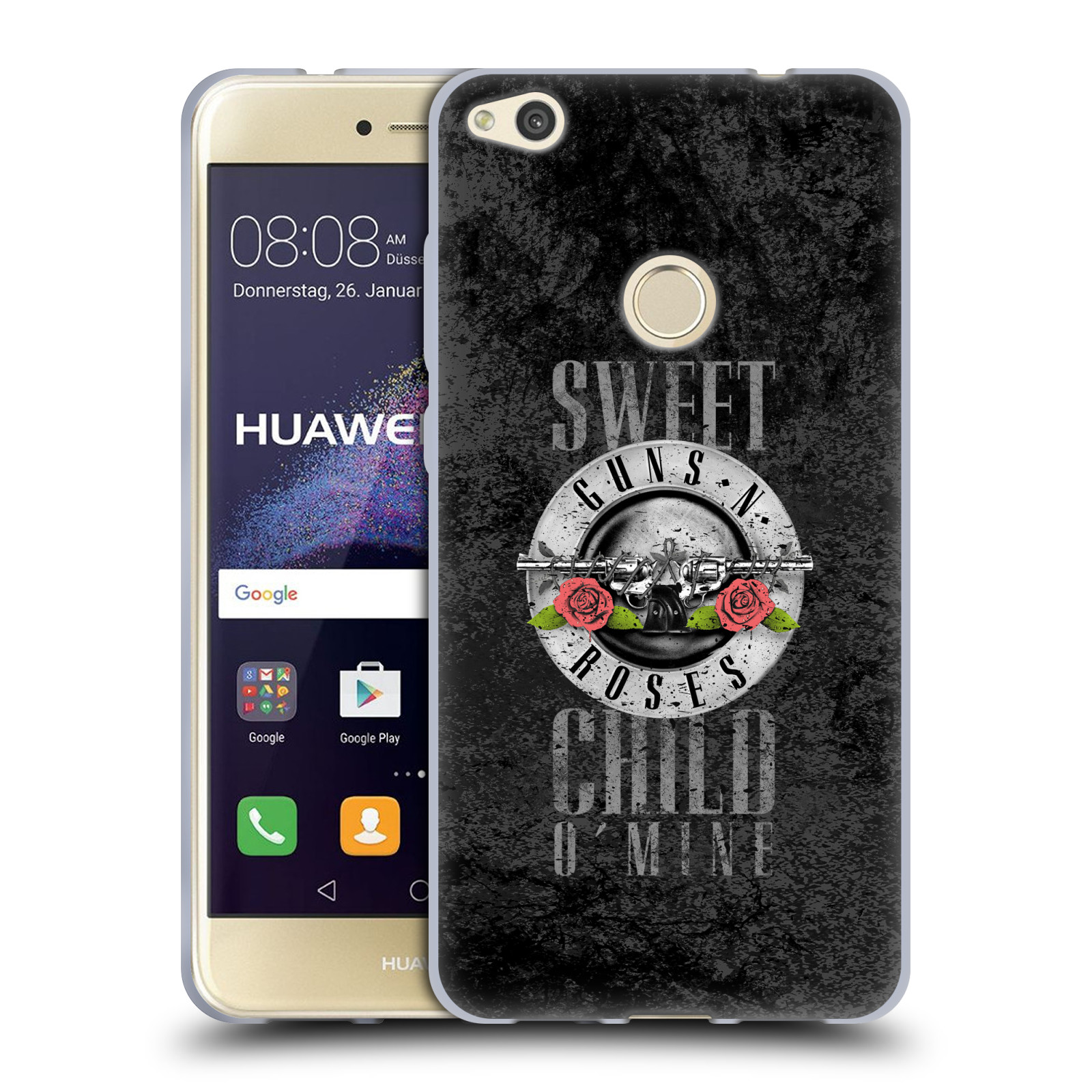 Silikonové pouzdro na mobil Huawei P9 Lite (2017) HEAD CASE Guns N' Roses - Sweet Child
