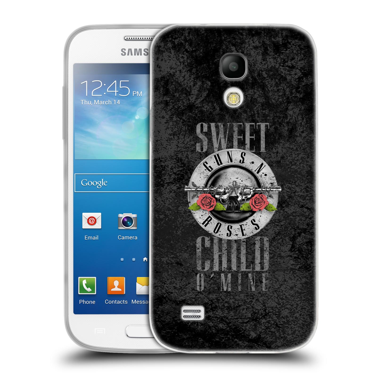 Silikonové pouzdro na mobil Samsung Galaxy S4 Mini HEAD CASE Guns N' Roses - Sweet Child
