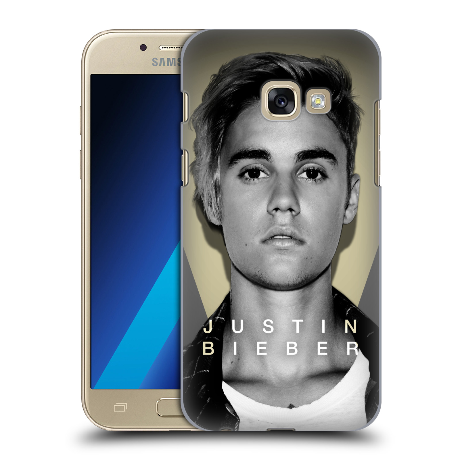 Plastové pouzdro na mobil Samsung Galaxy A3 (2017) HEAD CASE Justin Bieber Official - Head Shot