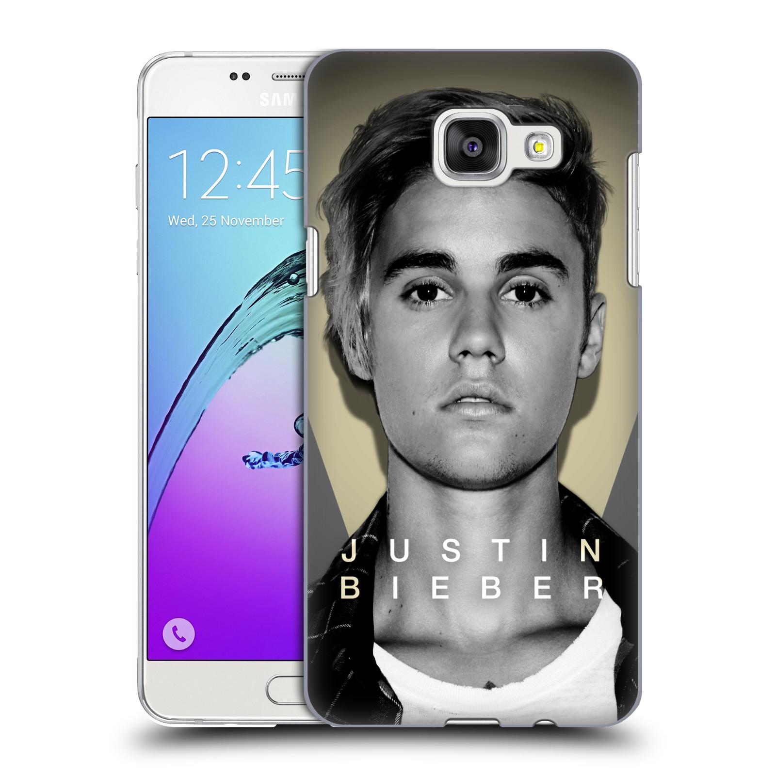 Plastové pouzdro na mobil Samsung Galaxy A5 (2016) HEAD CASE Justin Bieber Official - Head Shot