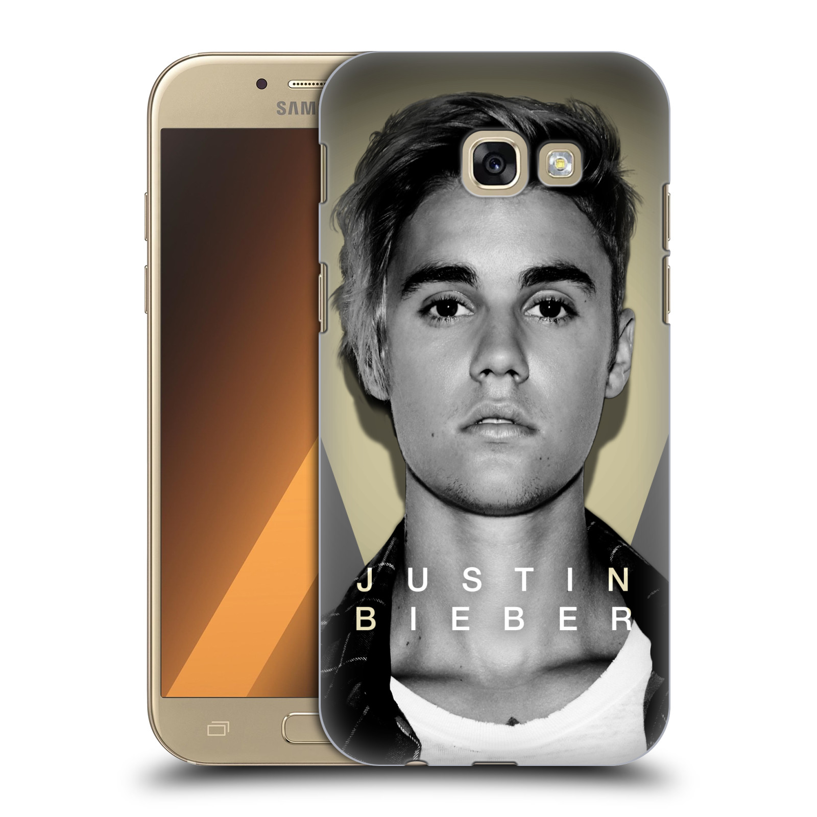 Plastové pouzdro na mobil Samsung Galaxy A5 (2017) HEAD CASE Justin Bieber Official - Head Shot