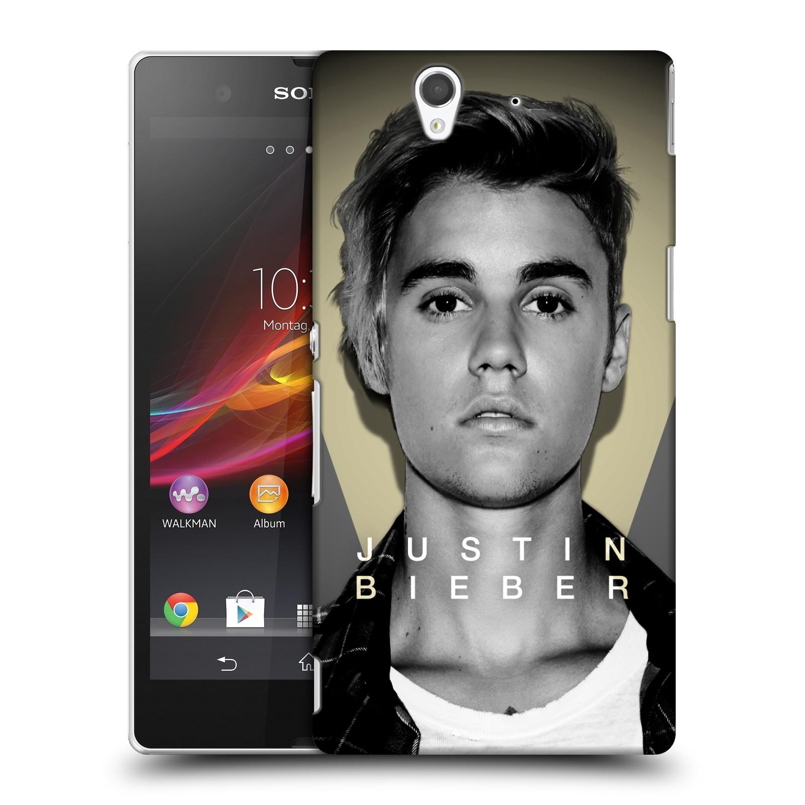 Plastové pouzdro na mobil Sony Xperia Z C6603 HEAD CASE Justin Bieber Official - Head Shot