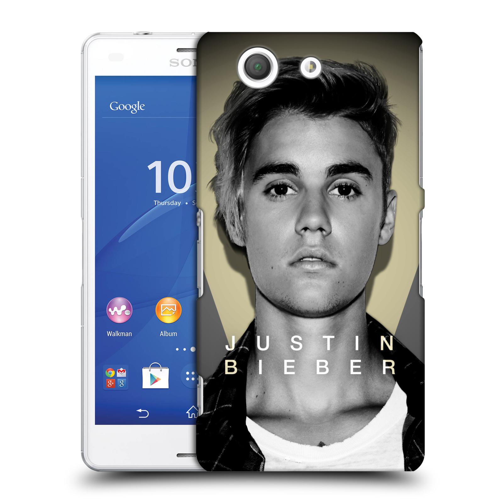 Plastové pouzdro na mobil Sony Xperia Z3 Compact D5803 HEAD CASE Justin Bieber Official - Head Shot