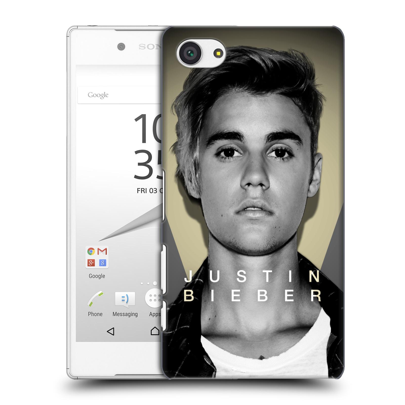 Plastové pouzdro na mobil Sony Xperia Z5 Compact HEAD CASE Justin Bieber Official - Head Shot