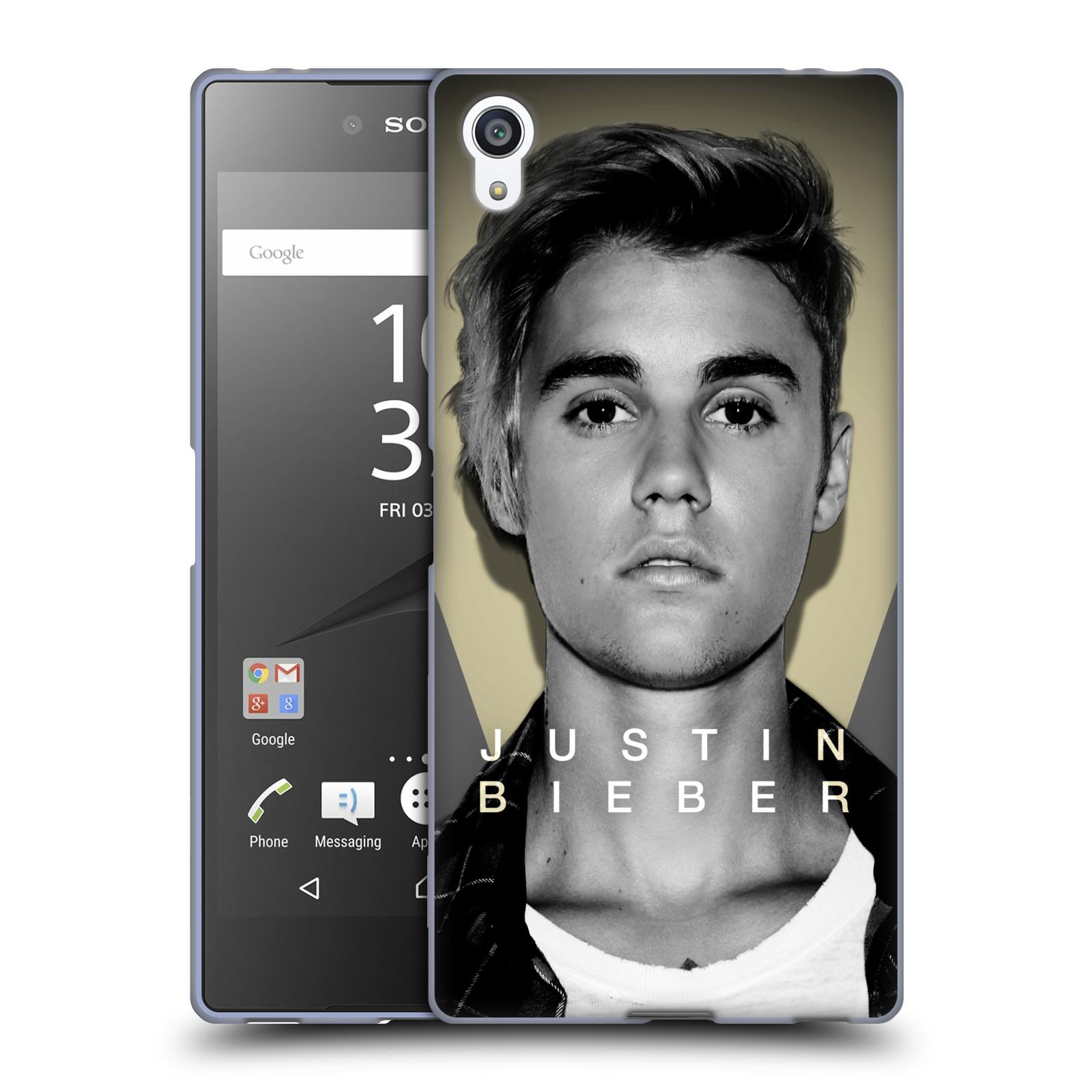 Silikonové pouzdro na mobil Sony Xperia Z5 Premium HEAD CASE Justin Bieber Official - Head Shot