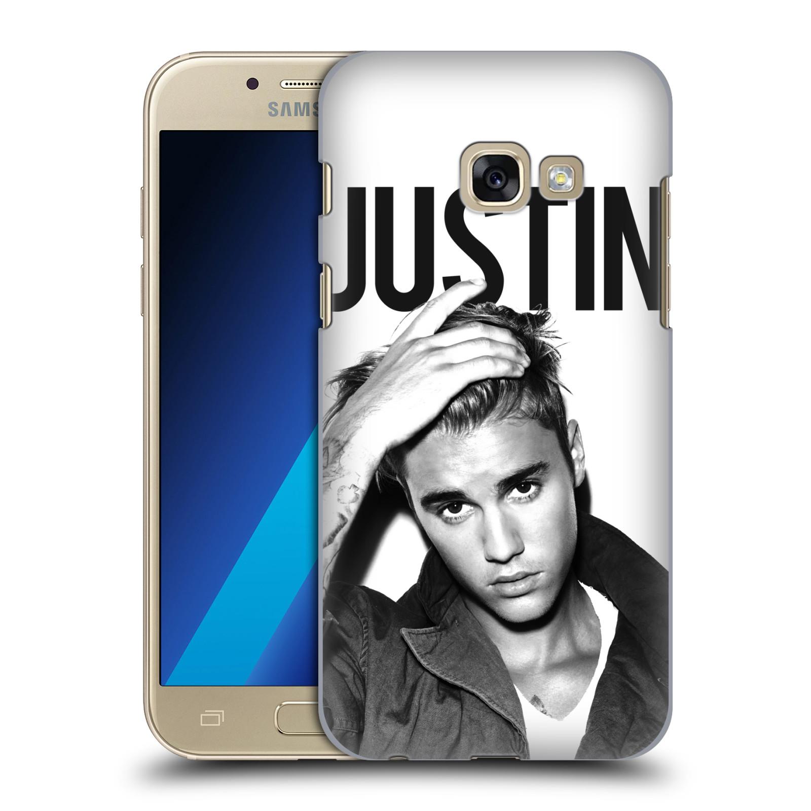 Plastové pouzdro na mobil Samsung Galaxy A3 (2017) HEAD CASE Justin Bieber Official - Póza