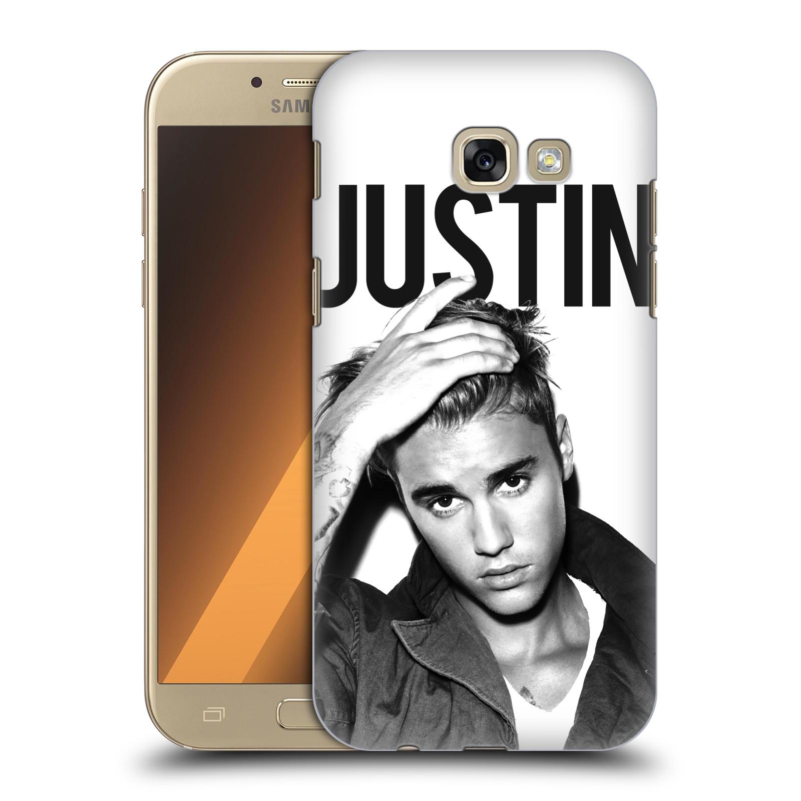 Plastové pouzdro na mobil Samsung Galaxy A5 (2017) HEAD CASE Justin Bieber Official - Póza
