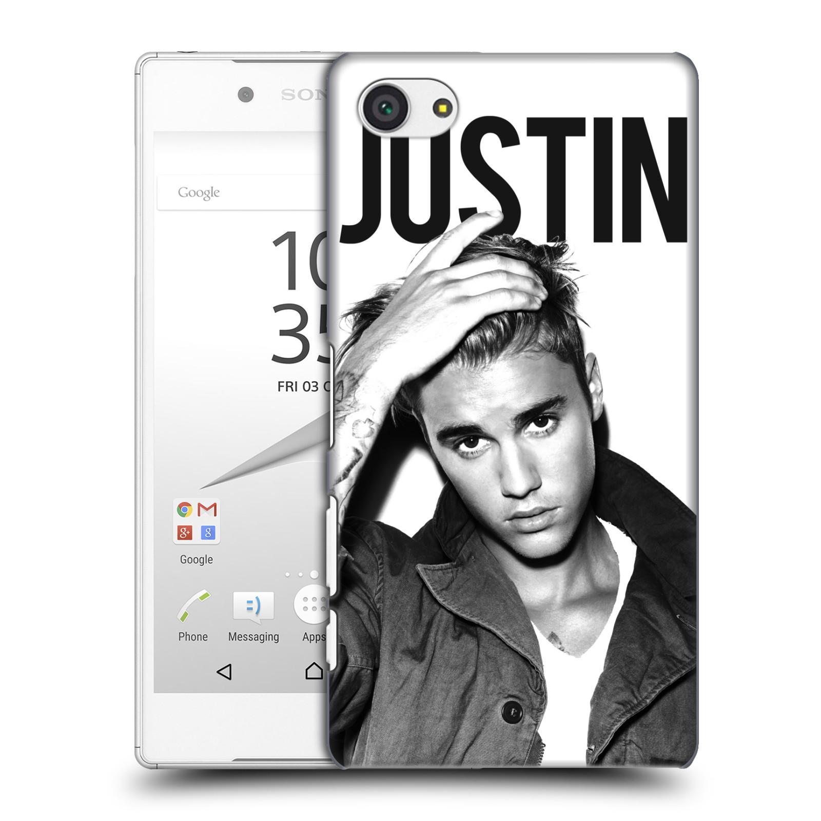 Plastové pouzdro na mobil Sony Xperia Z5 Compact HEAD CASE Justin Bieber Official - Póza