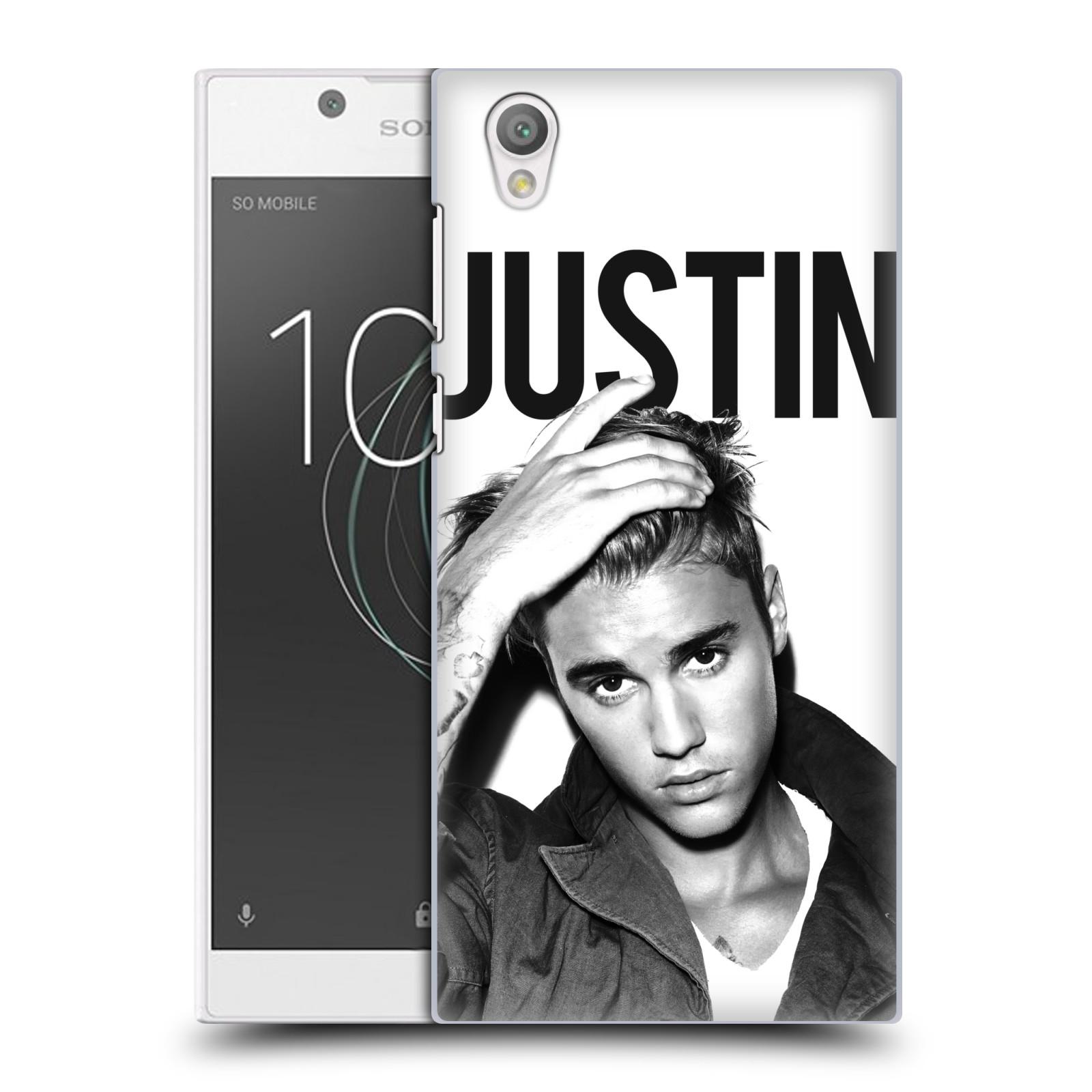 Plastové pouzdro na mobil Sony Xperia L1 - Head Case - Justin Bieber Official - Póza