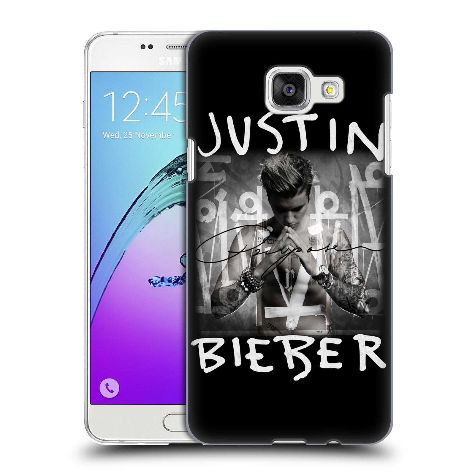 Plastové pouzdro na mobil Samsung Galaxy A5 (2016) HEAD CASE Justin Bieber Official - Purpose