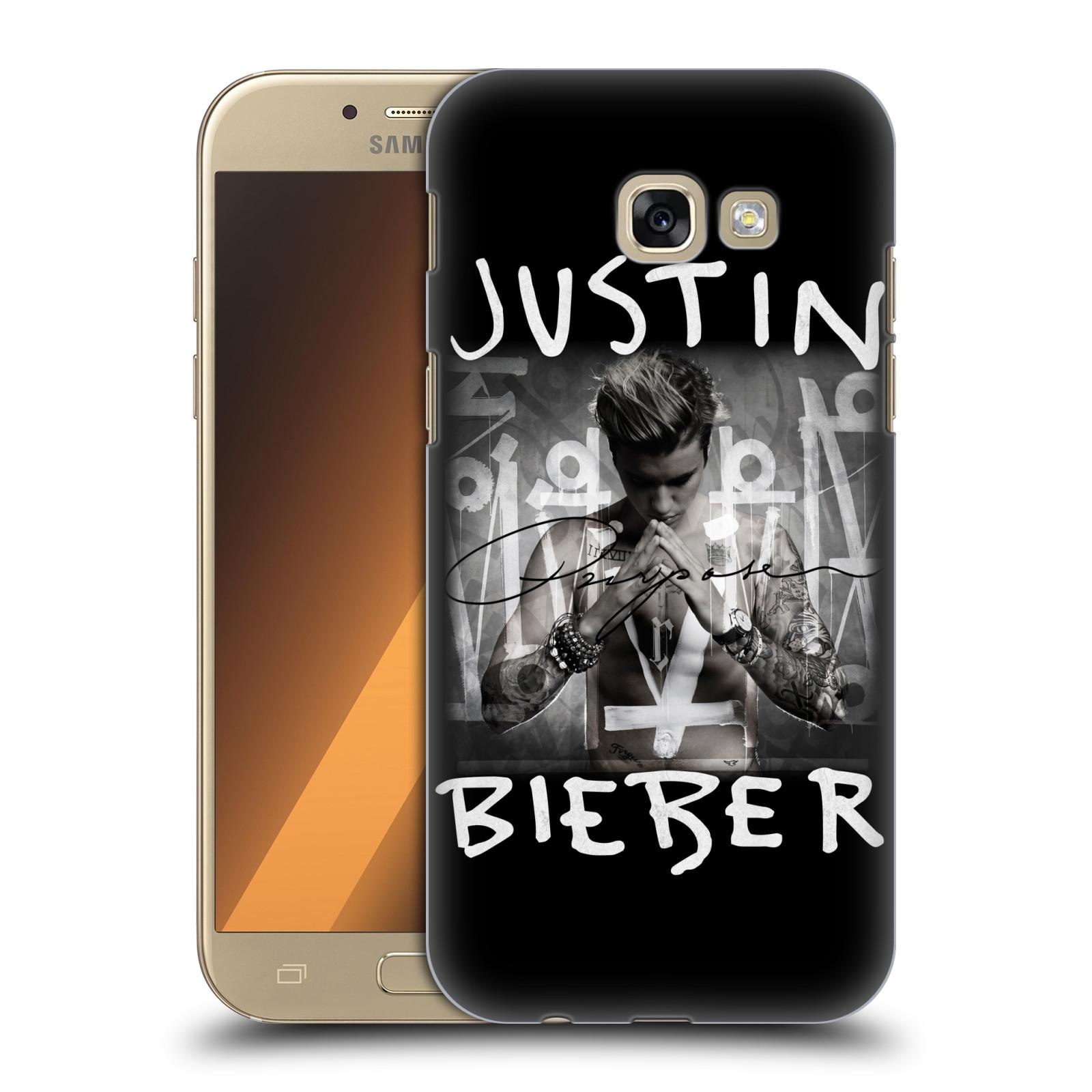 Plastové pouzdro na mobil Samsung Galaxy A5 (2017) HEAD CASE Justin Bieber Official - Purpose