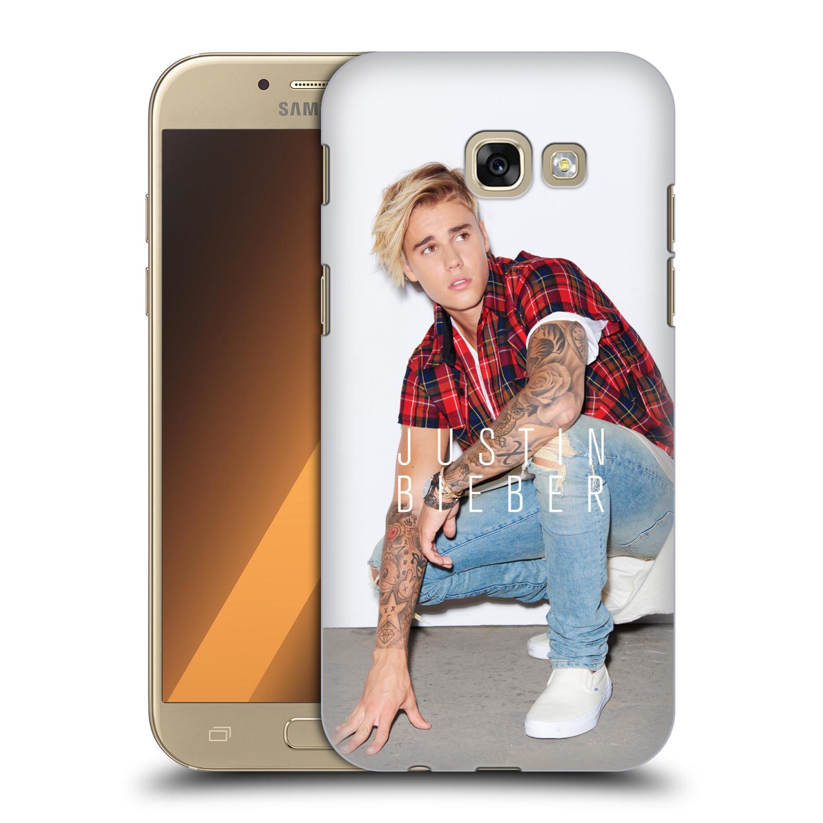 Plastové pouzdro na mobil Samsung Galaxy A5 (2017) HEAD CASE Justin Bieber Official - V pokleku