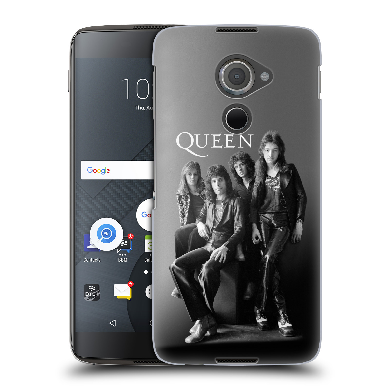 Plastové pouzdro na mobil Blackberry DTEK60 (Argon) - Head Case Queen - Skupina