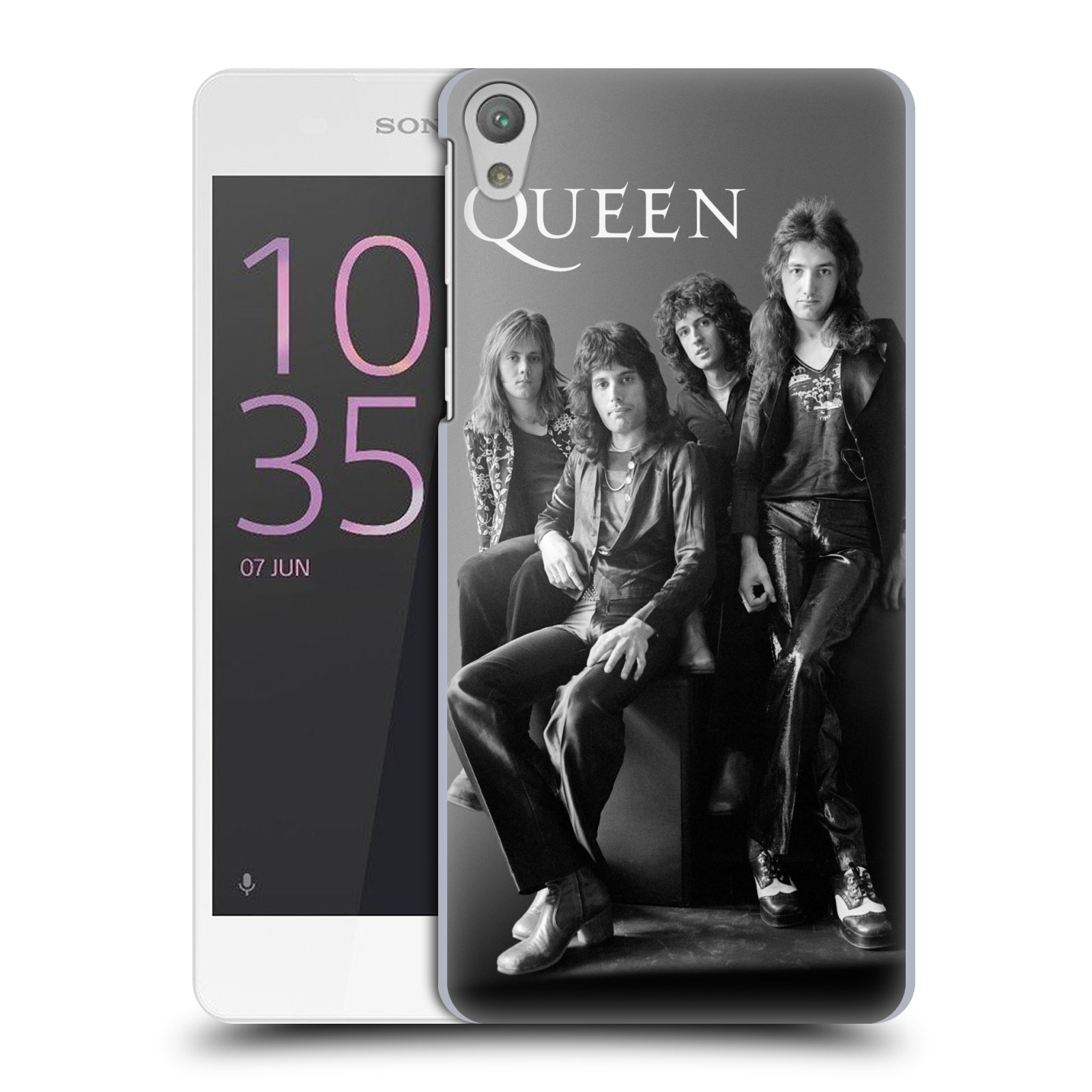 Plastové pouzdro na mobil Sony Xperia E5 HEAD CASE Queen - Skupina