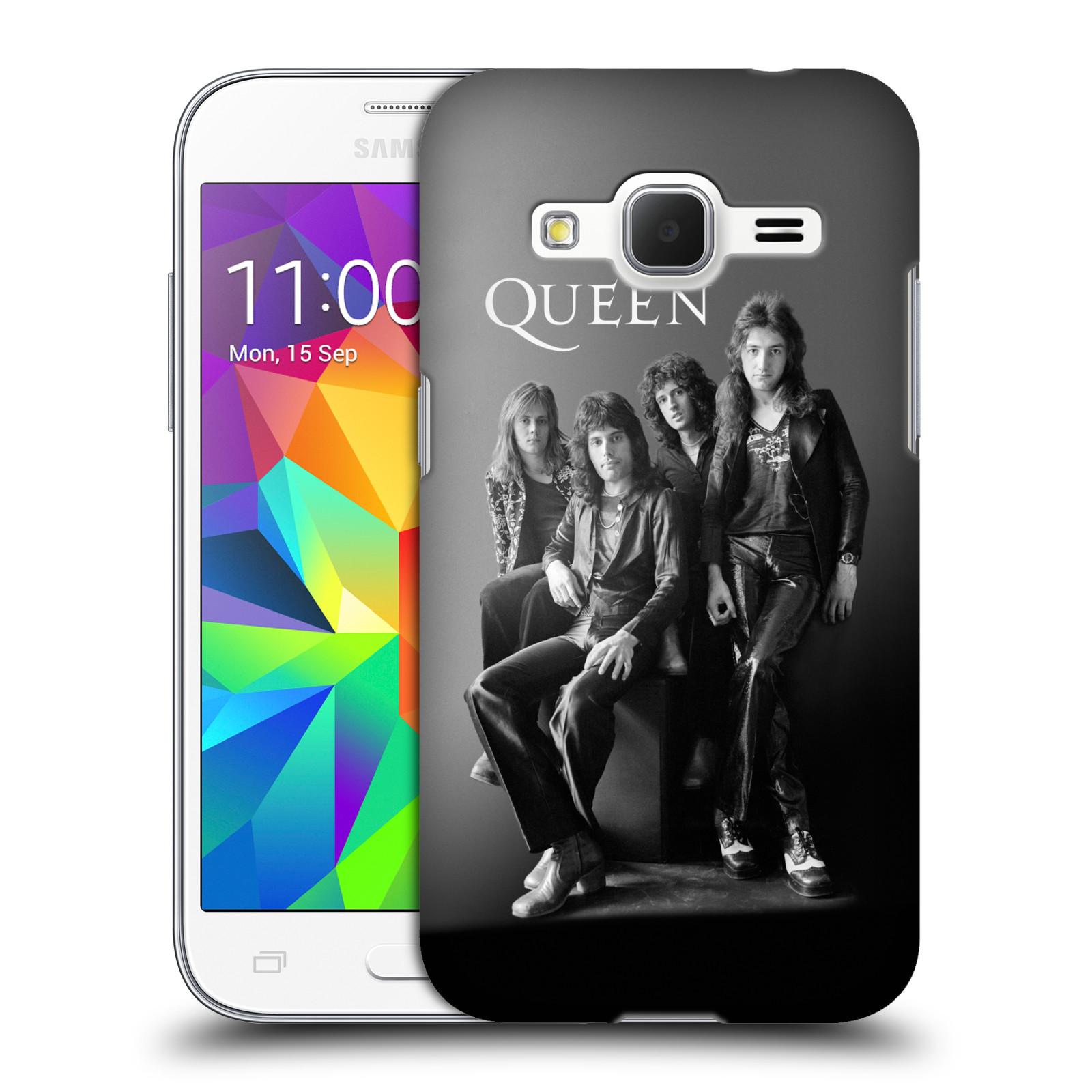 Plastové pouzdro na mobil Samsung Galaxy Core Prime VE HEAD CASE Queen - Skupina
