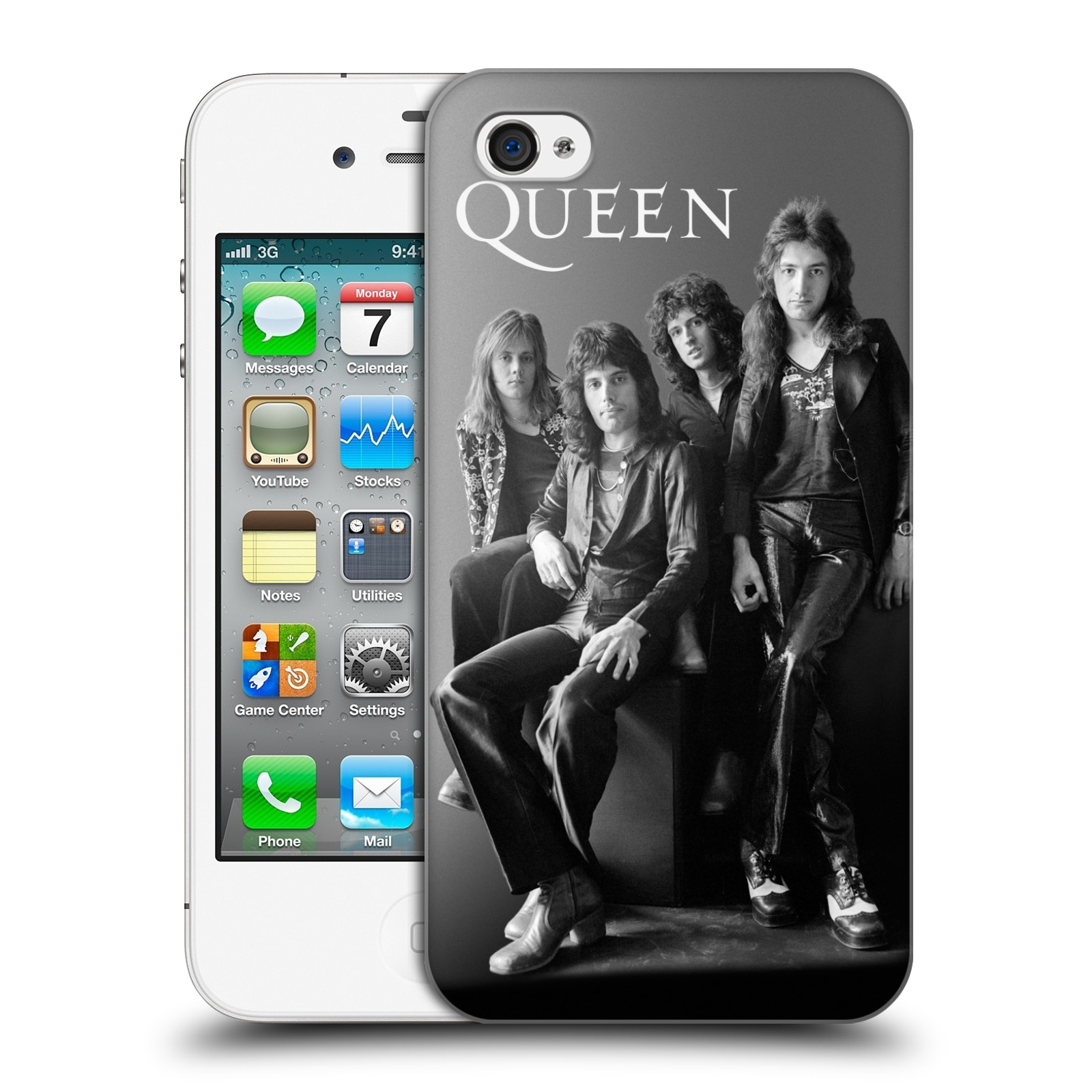 Plastové pouzdro na mobil Apple iPhone 4 a 4S HEAD CASE Queen - Skupina
