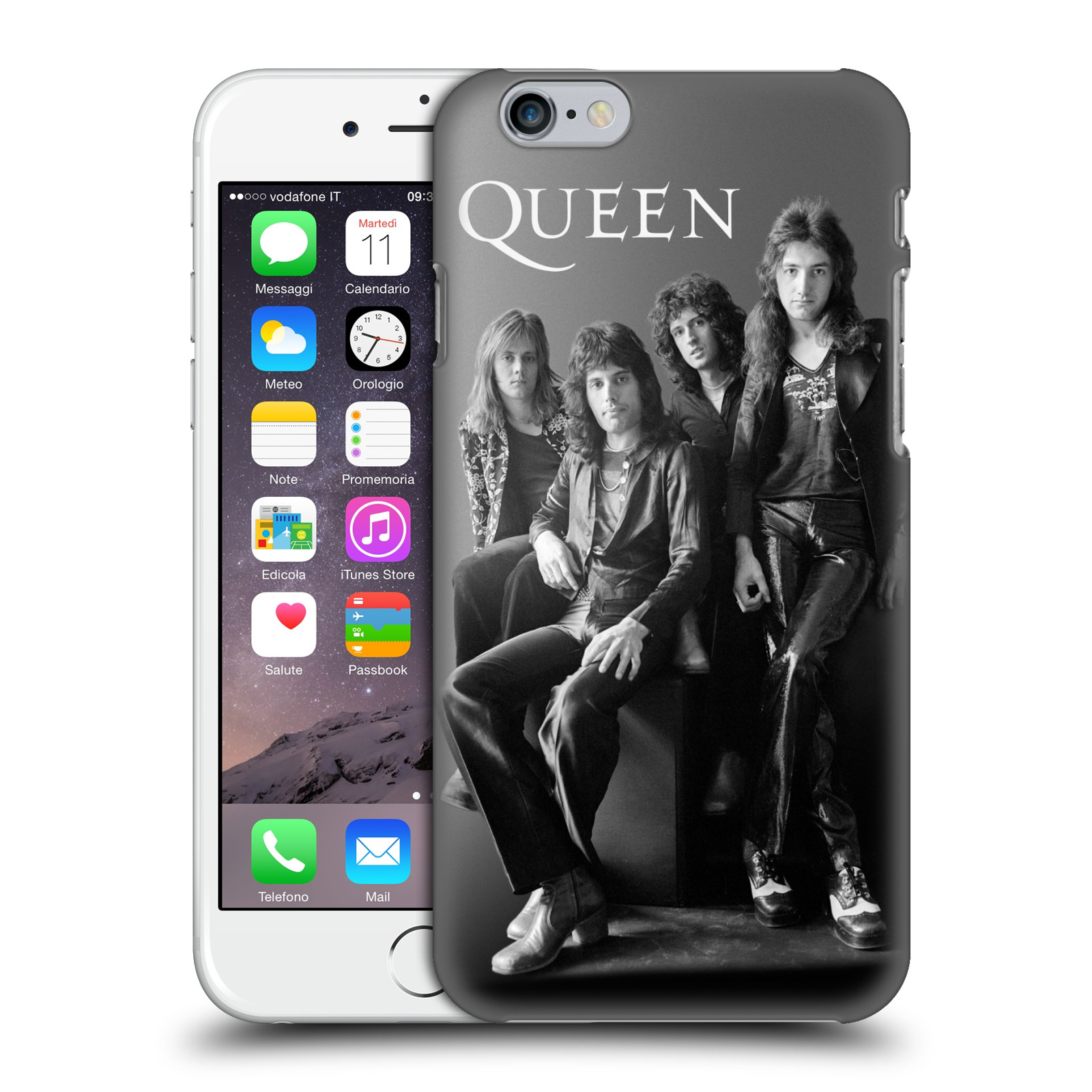 Plastové pouzdro na mobil Apple iPhone 6 HEAD CASE Queen - Skupina