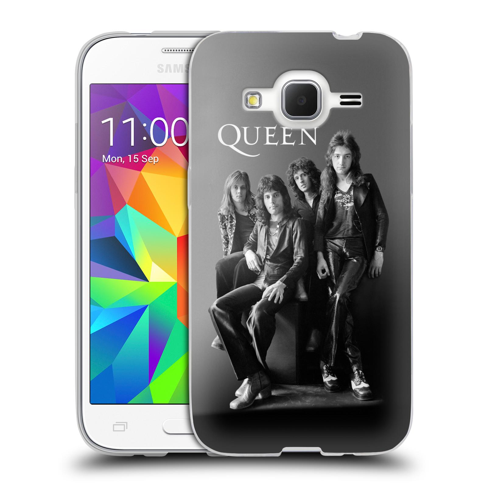 Silikonové pouzdro na mobil Samsung Galaxy Core Prime LTE HEAD CASE Queen - Skupina