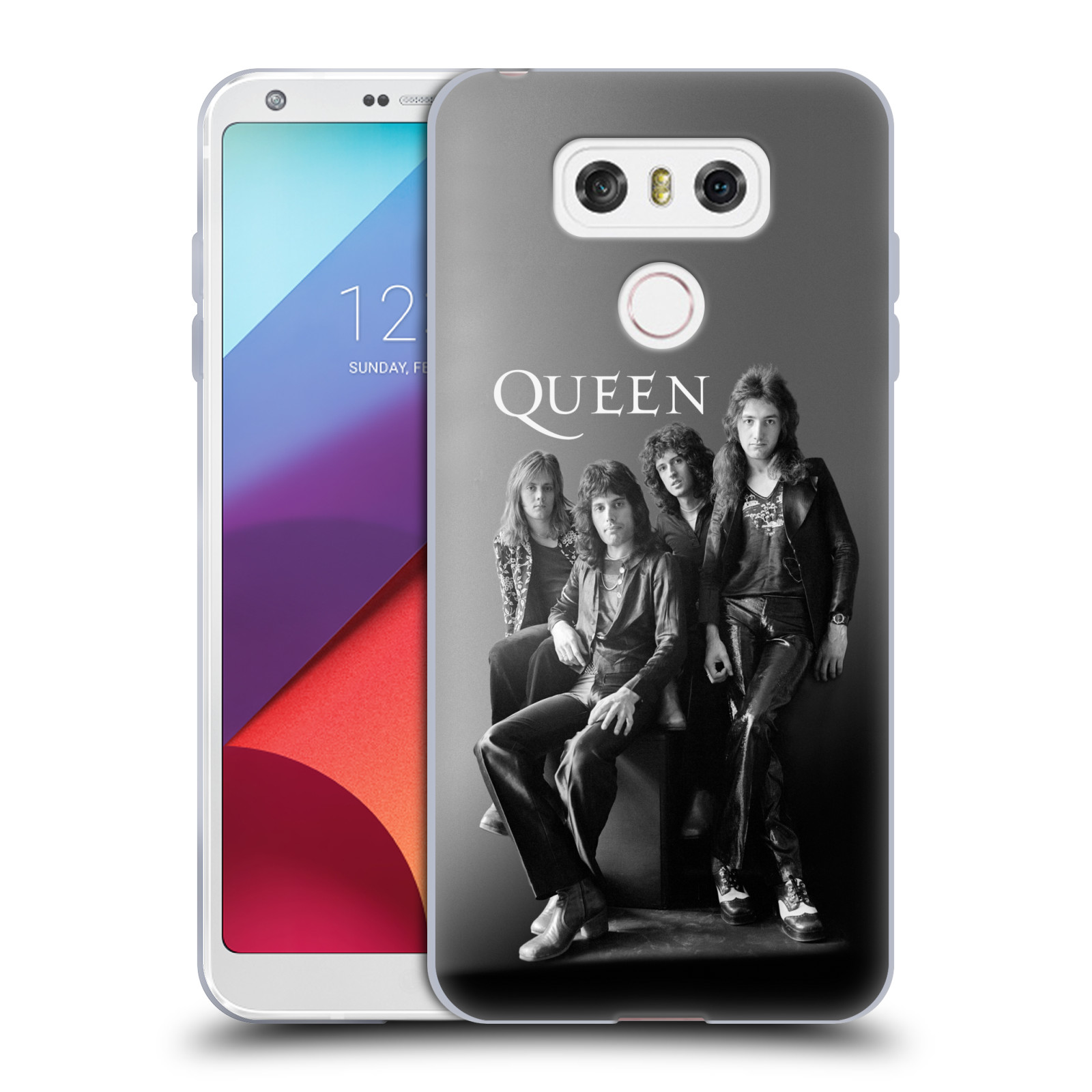 Silikonové pouzdro na mobil LG G6 - Head Case Queen - Skupina