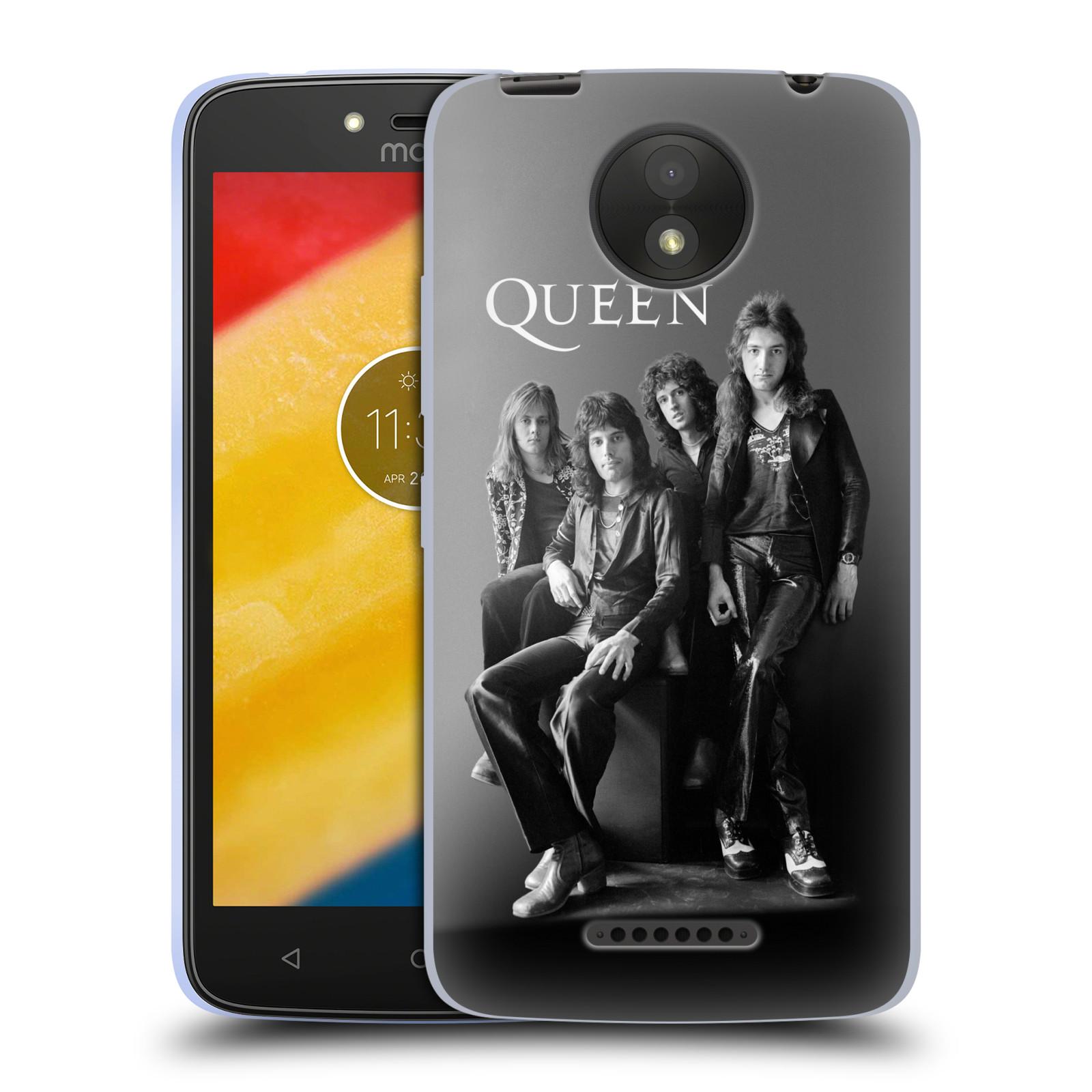 Silikonové pouzdro na mobil Lenovo Moto C Plus - Head Case - Queen - Skupina
