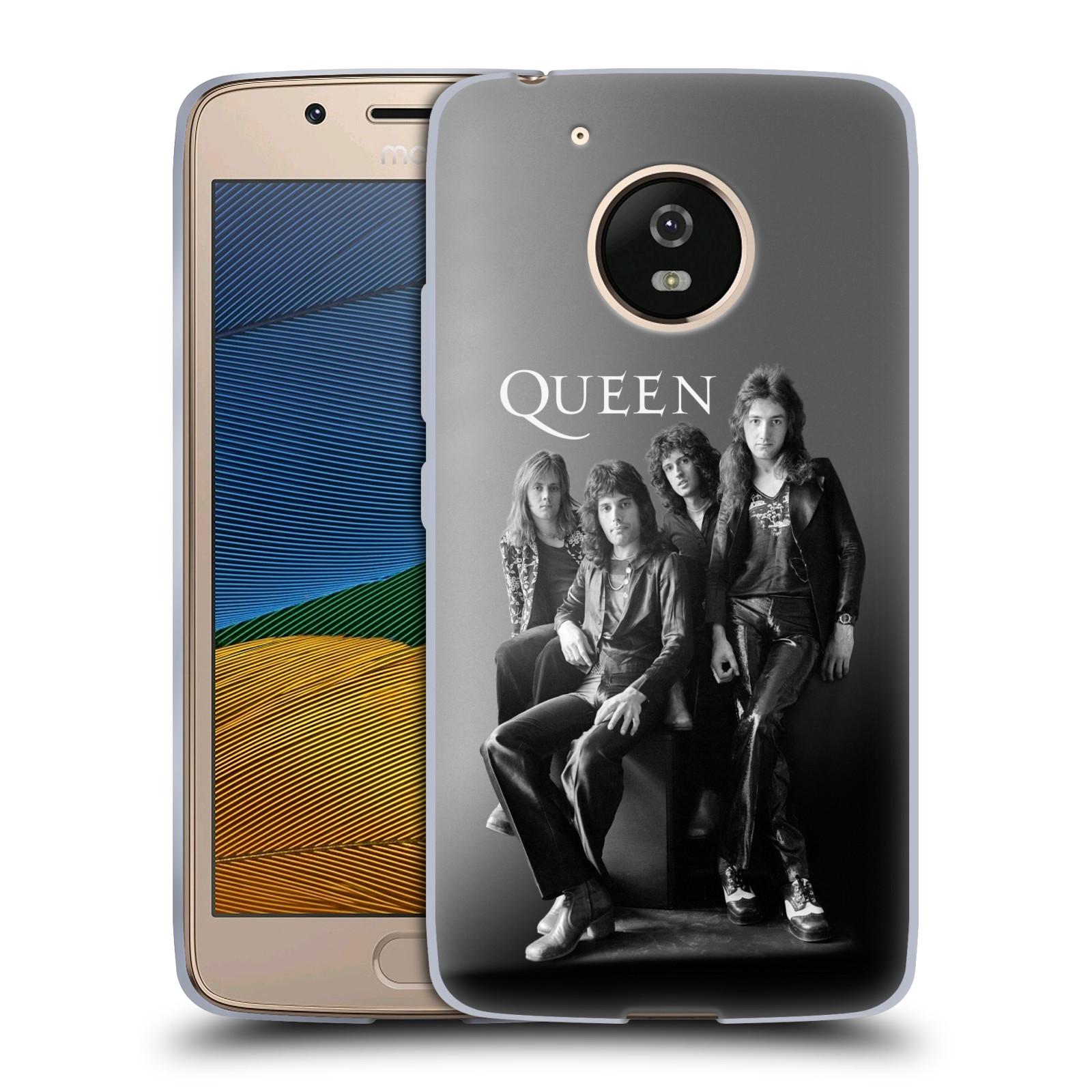 Silikonové pouzdro na mobil Lenovo Moto G5 - Head Case Queen - Skupina