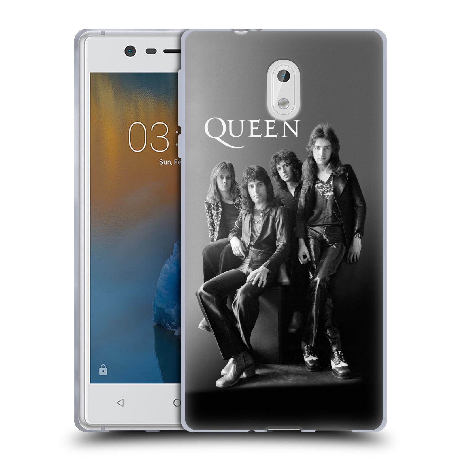 Silikonové pouzdro na mobil Nokia 3 Head Case - Queen - Skupina