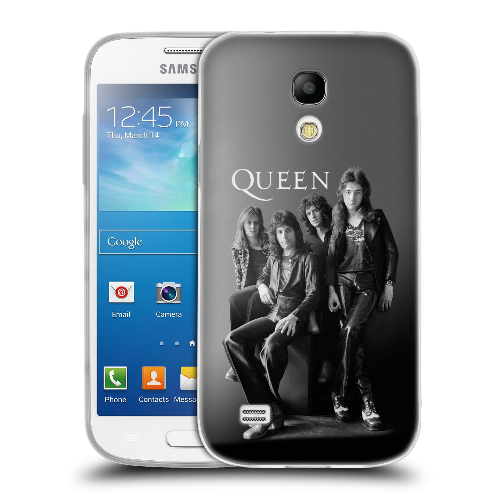Silikonové pouzdro na mobil Samsung Galaxy S4 Mini HEAD CASE Queen - Skupina