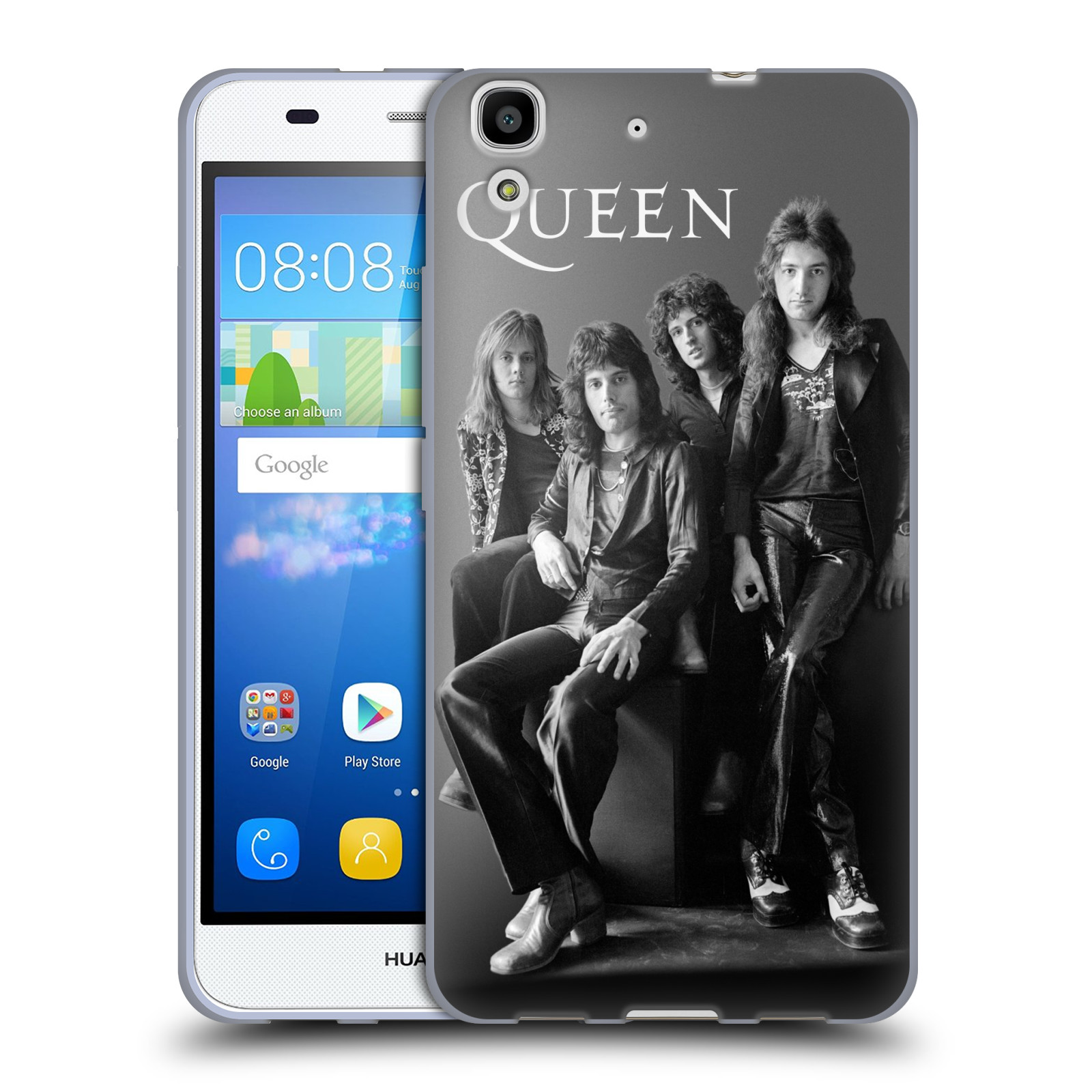 Silikonové pouzdro na mobil Huawei Y6 HEAD CASE Queen - Skupina