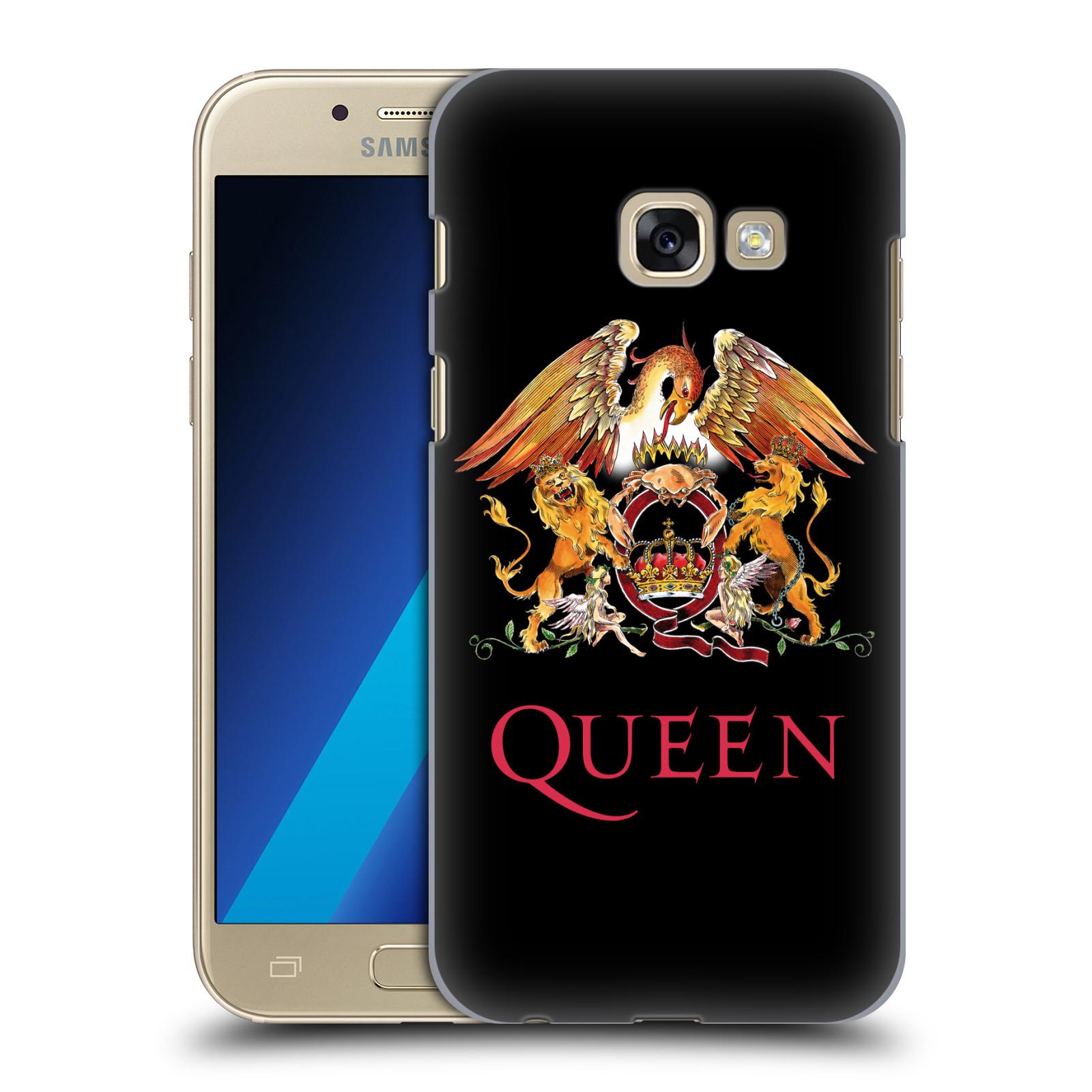 Plastové pouzdro na mobil Samsung Galaxy A3 (2017) HEAD CASE Queen - Logo