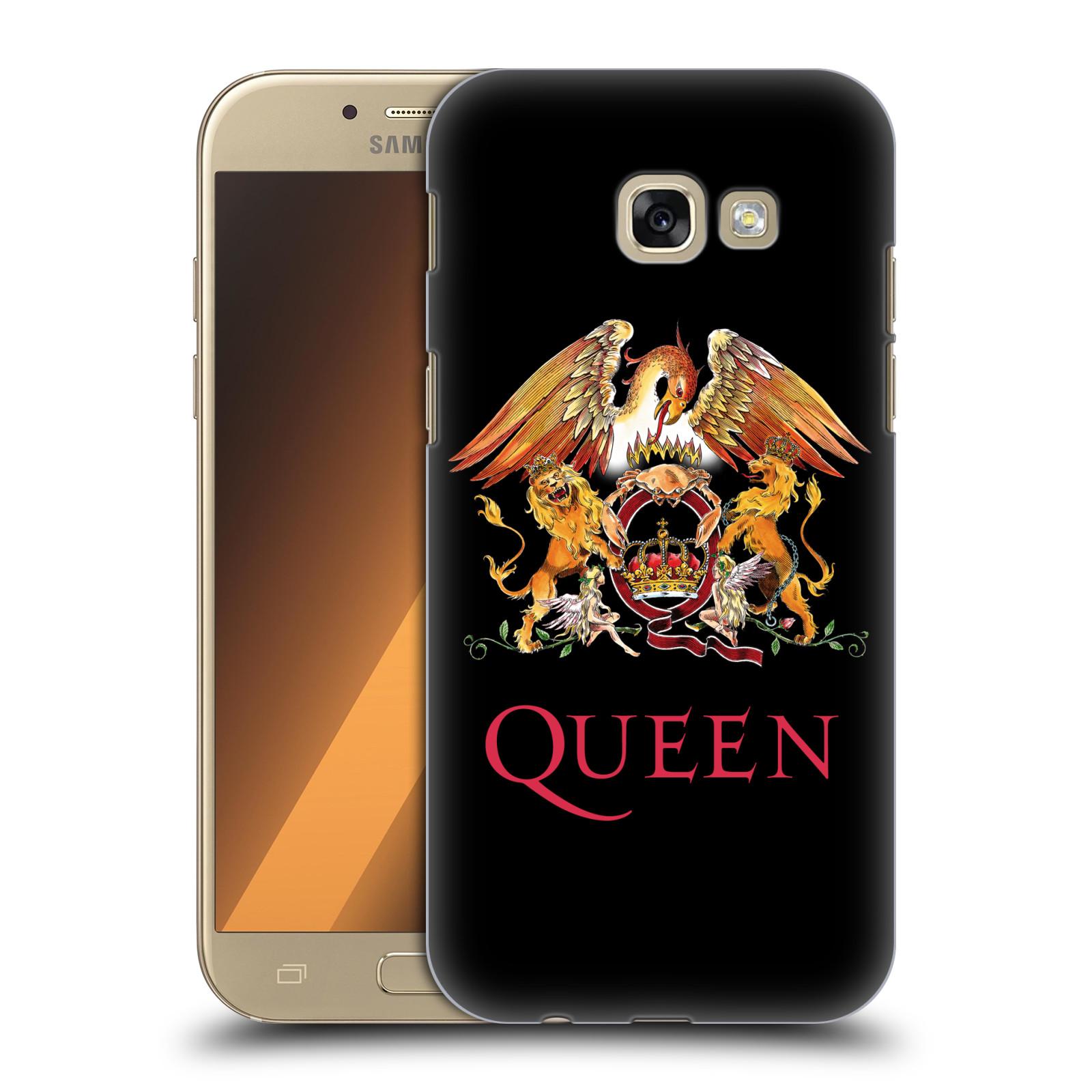 Plastové pouzdro na mobil Samsung Galaxy A5 (2017) HEAD CASE Queen - Logo