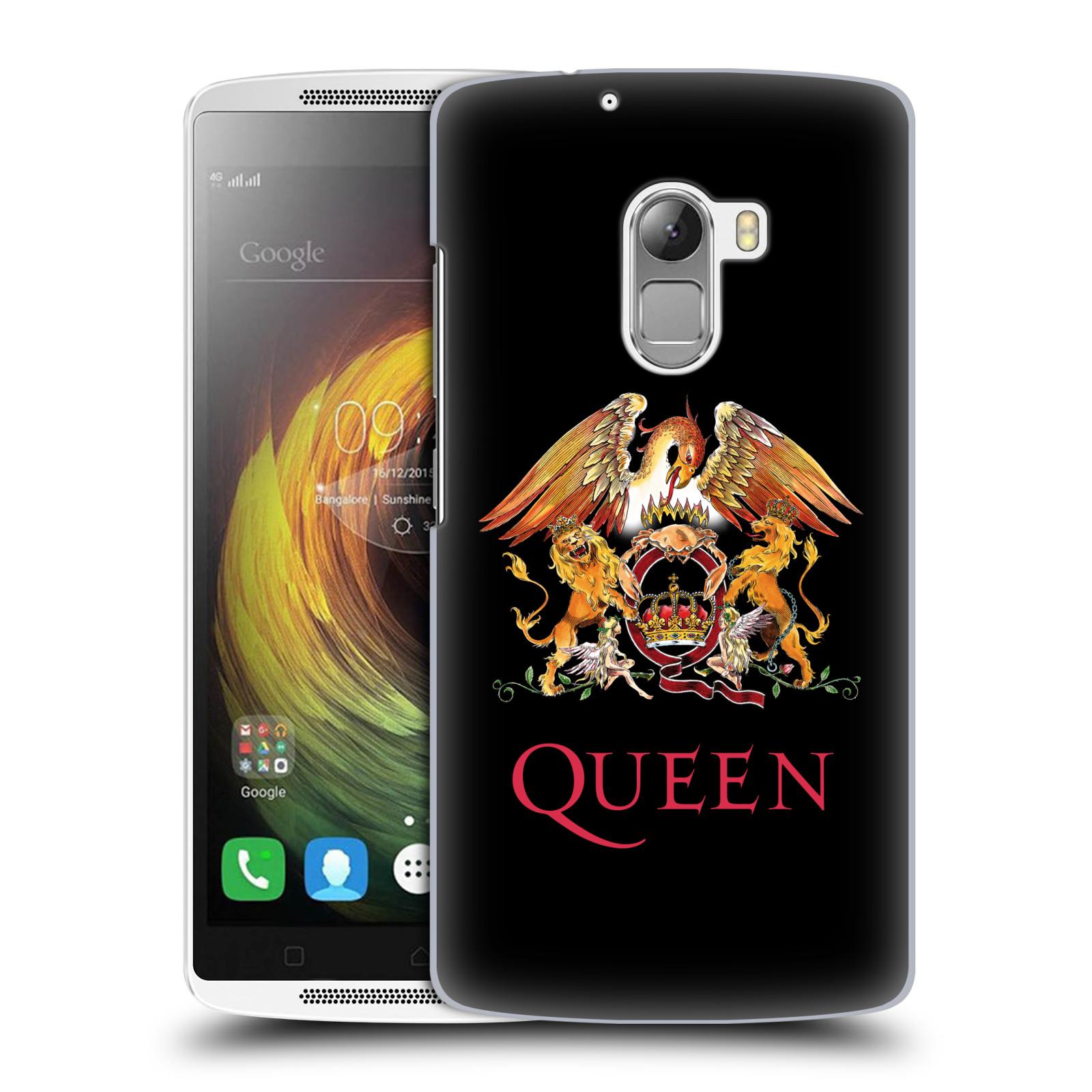 Plastové pouzdro na mobil Lenovo A7010 HEAD CASE Queen - Logo