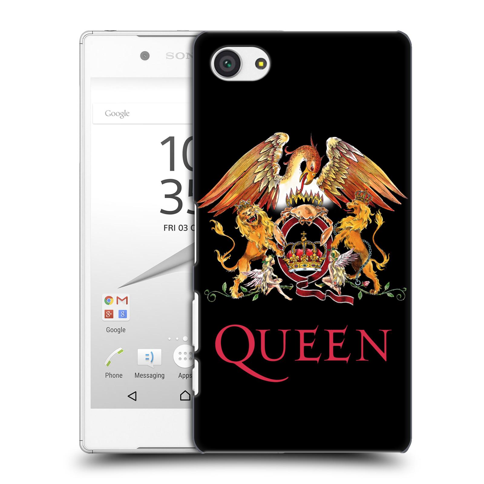Plastové pouzdro na mobil Sony Xperia Z5 Compact HEAD CASE Queen - Logo