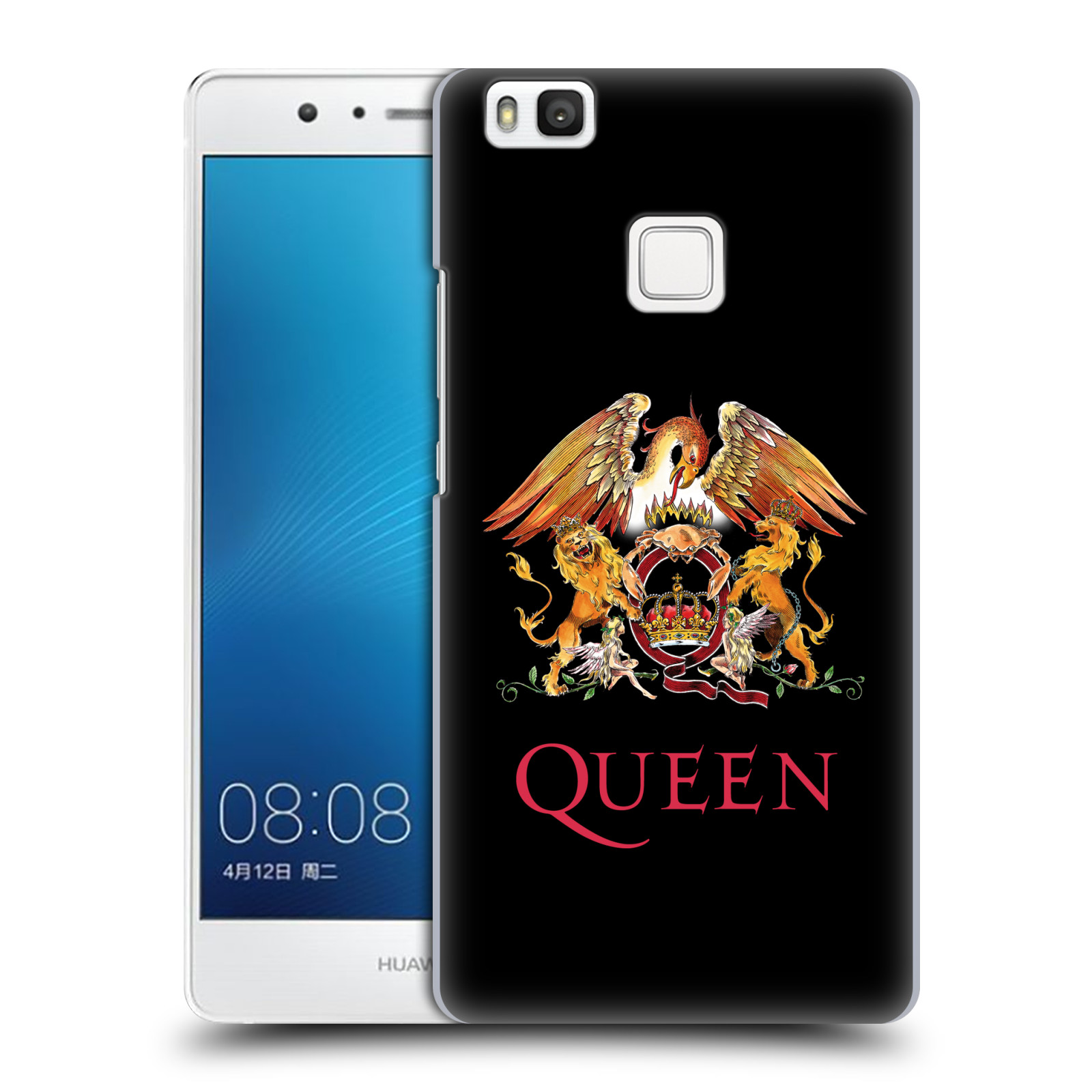 Plastové pouzdro na mobil Huawei P9 Lite HEAD CASE Queen - Logo