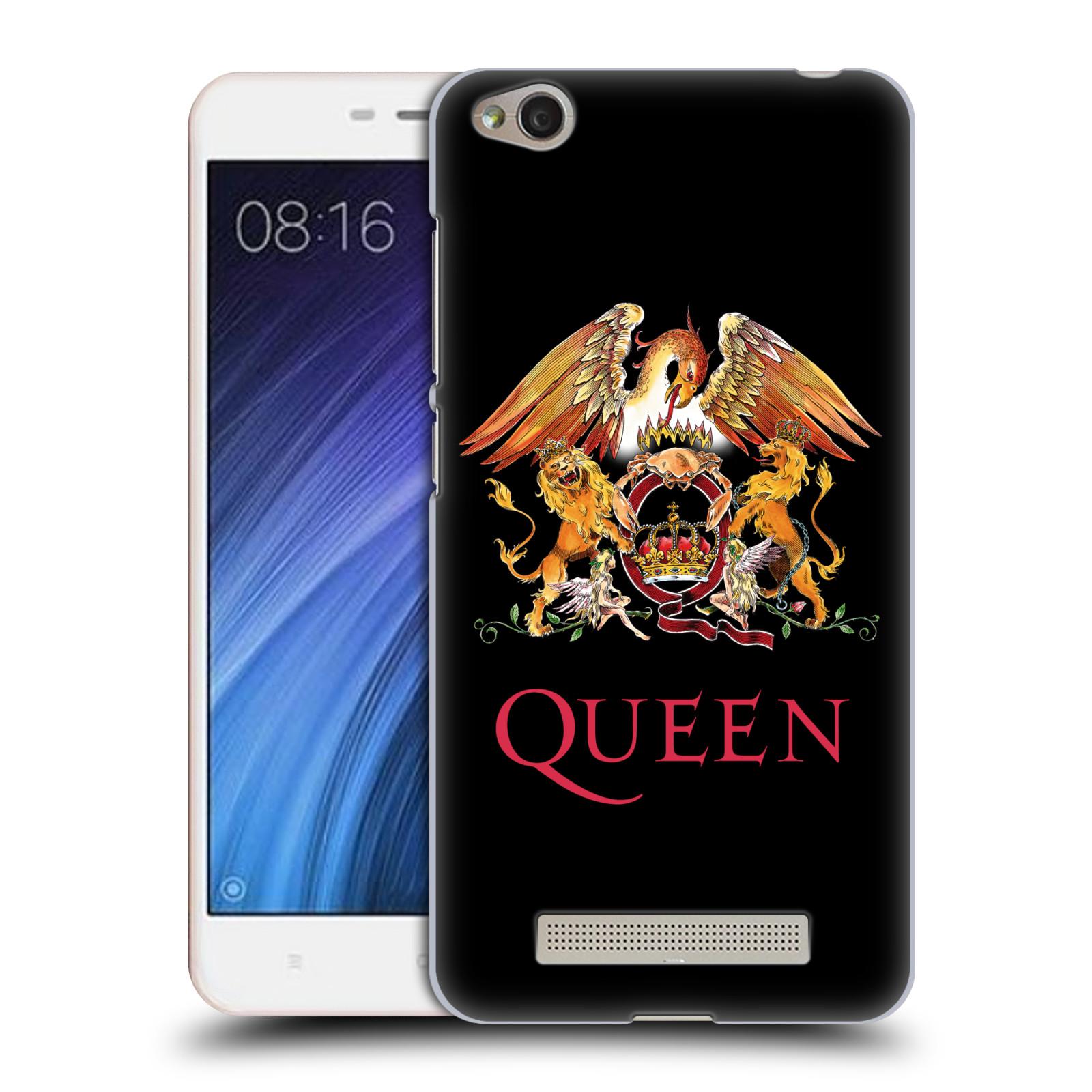 Plastové pouzdro na mobil Xiaomi Redmi 4A HEAD CASE Queen - Logo