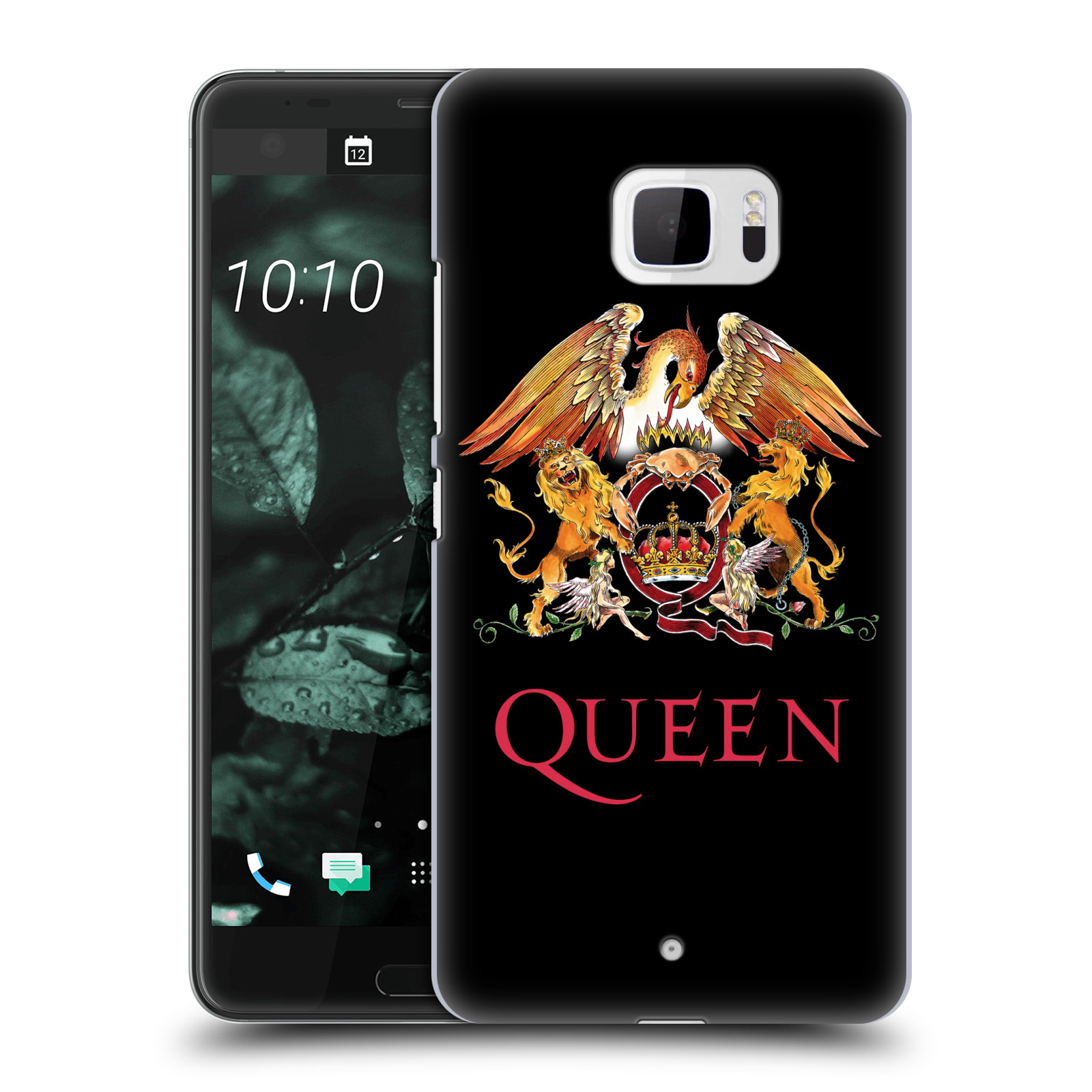 Plastové pouzdro na mobil HTC U Ultra Head Case - Queen - Logo