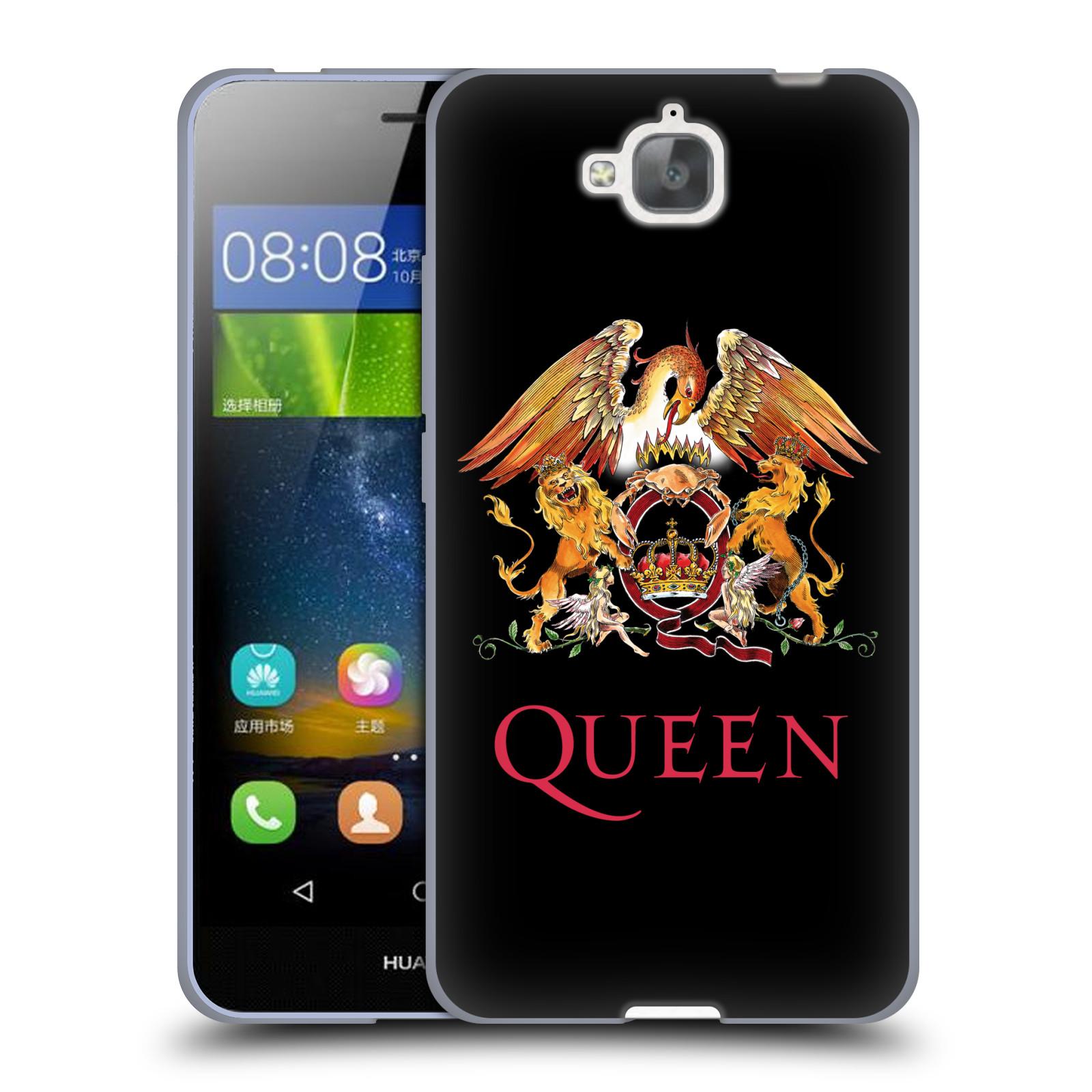 Silikonové pouzdro na mobil Huawei Y6 Pro Dual Sim HEAD CASE Queen - Logo