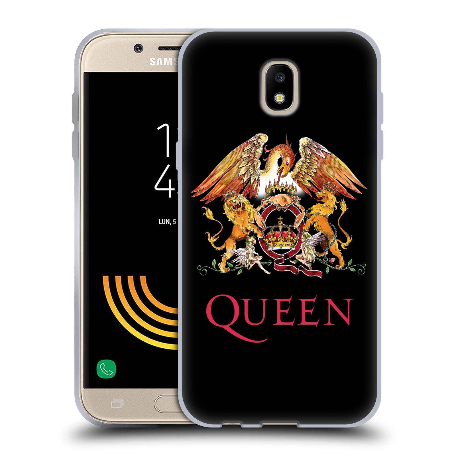 Silikonové pouzdro na mobil Samsung Galaxy J5 (2017) - Head Case - Queen - Logo