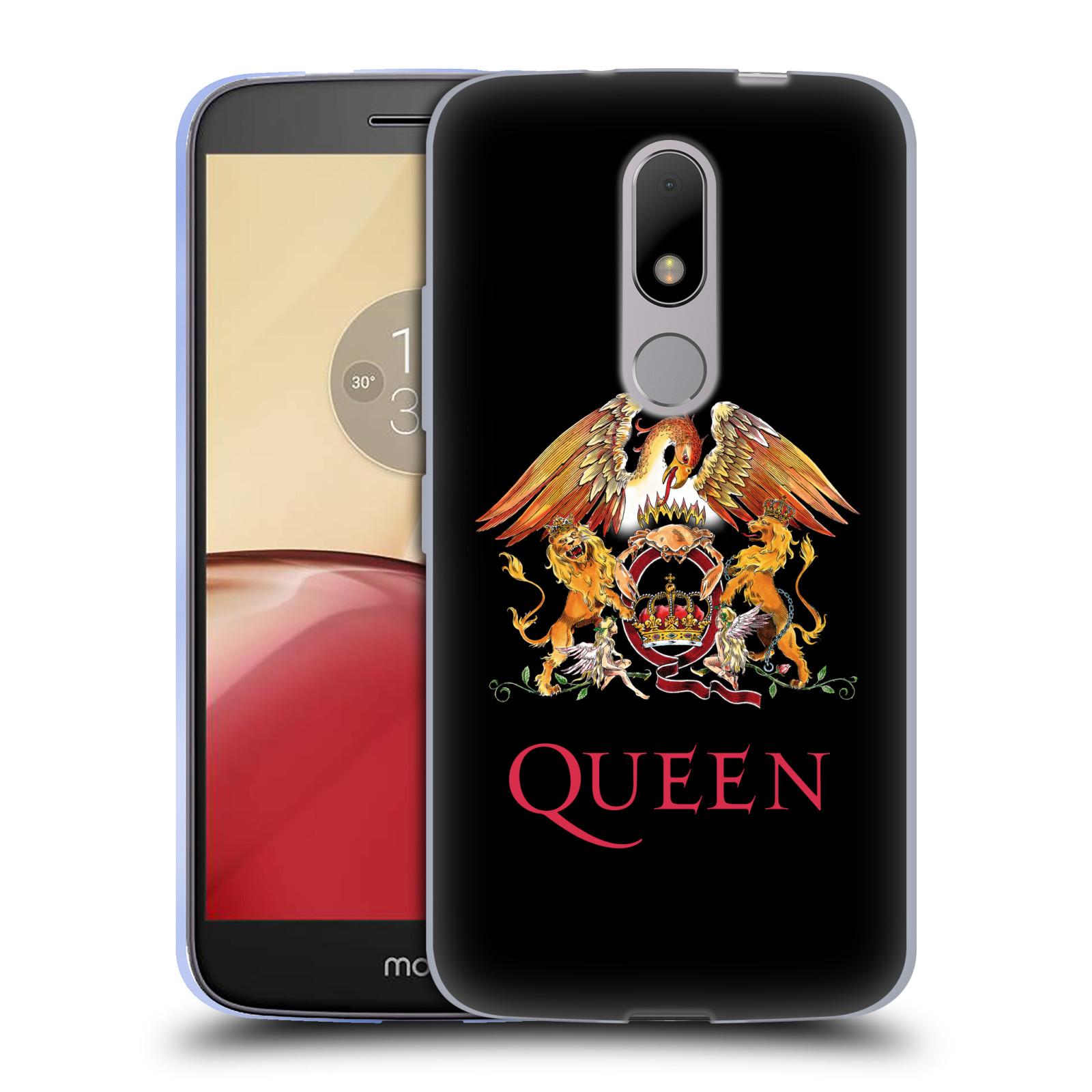 Silikonové pouzdro na mobil Lenovo Moto M - Head Case Queen - Logo