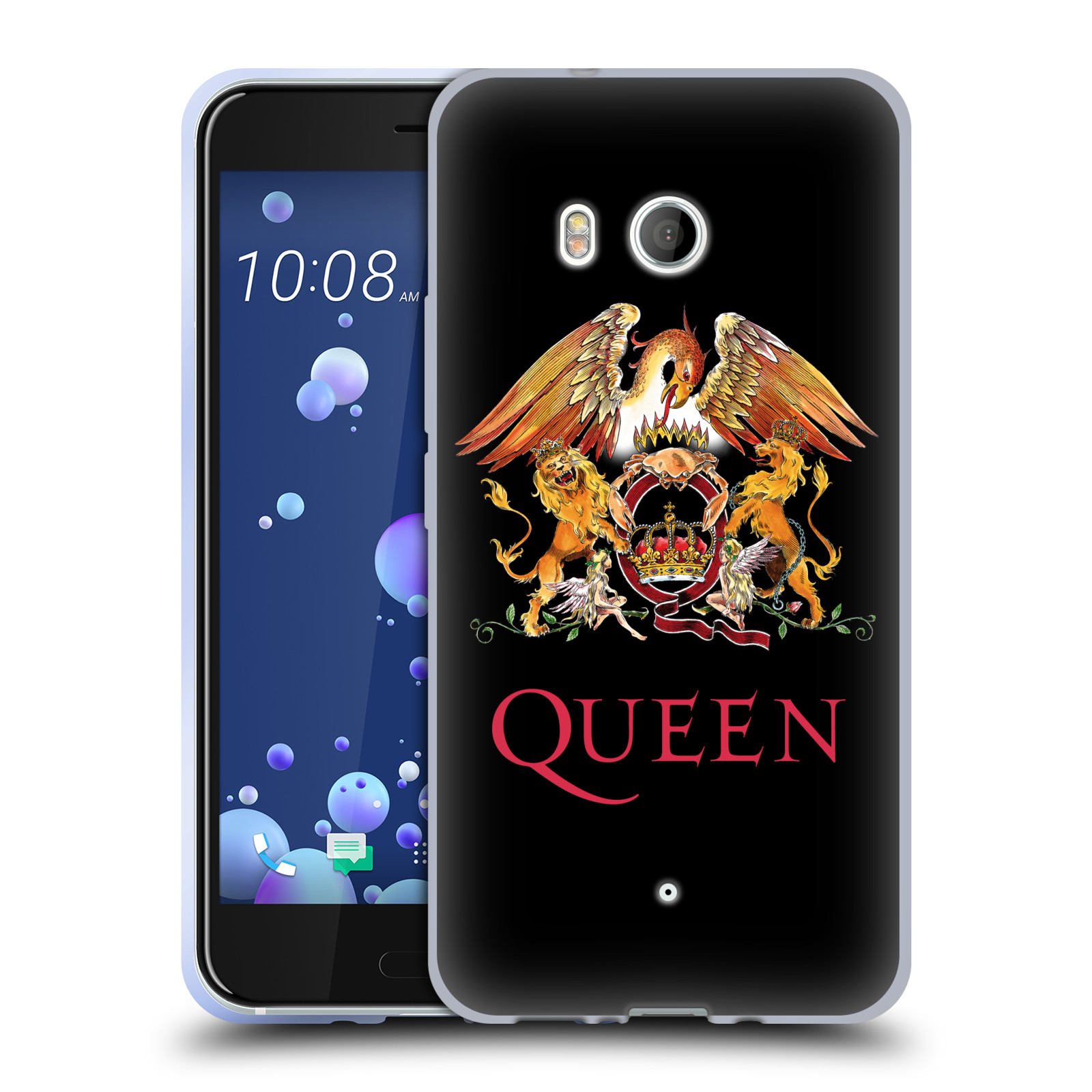 Silikonové pouzdro na mobil HTC U11 - Head Case - Queen - Logo