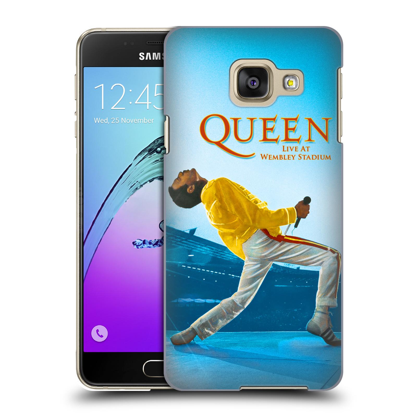 Plastové pouzdro na mobil Samsung Galaxy A3 (2016) HEAD CASE Queen - Freddie Mercury