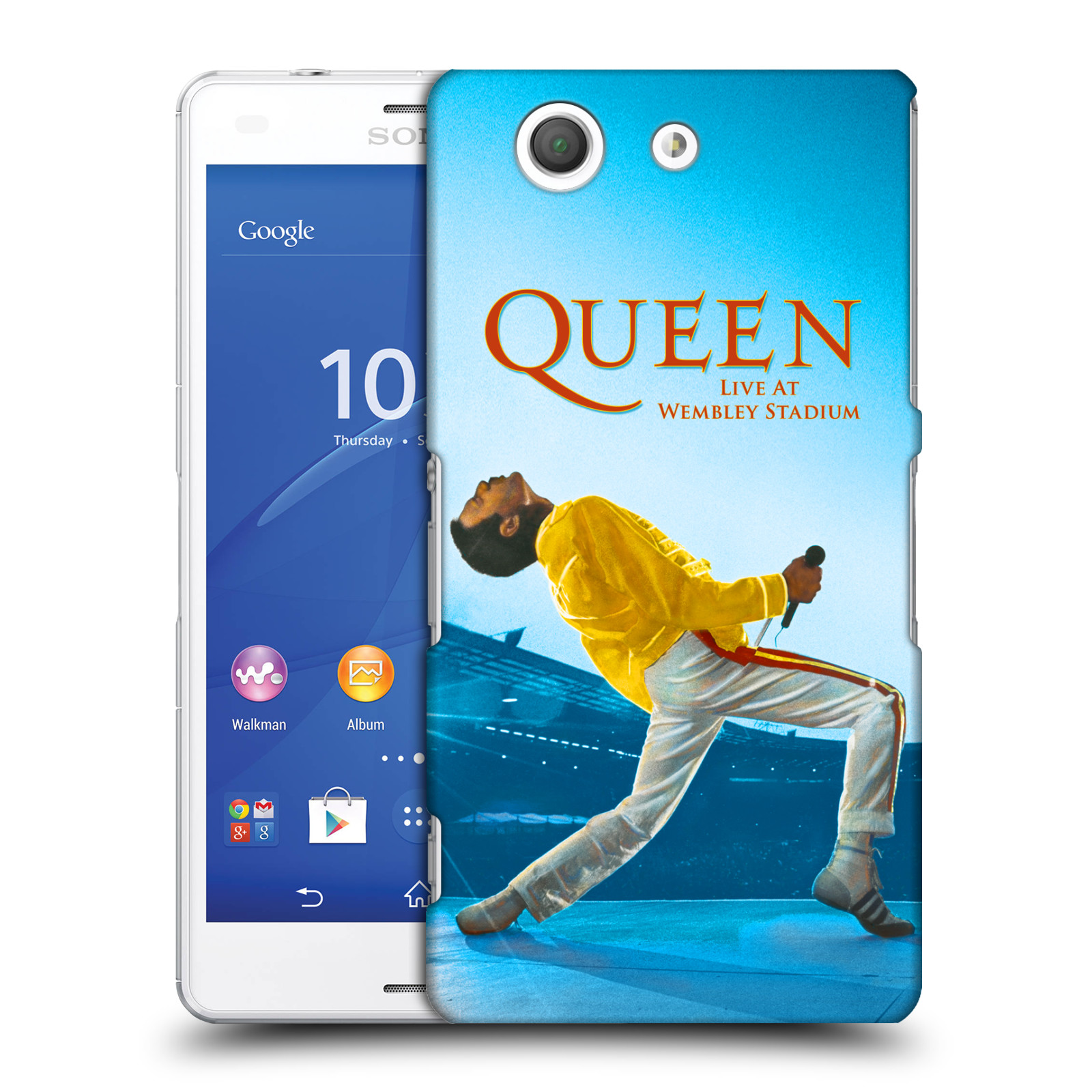 Plastové pouzdro na mobil Sony Xperia Z3 Compact D5803 HEAD CASE Queen - Freddie Mercury
