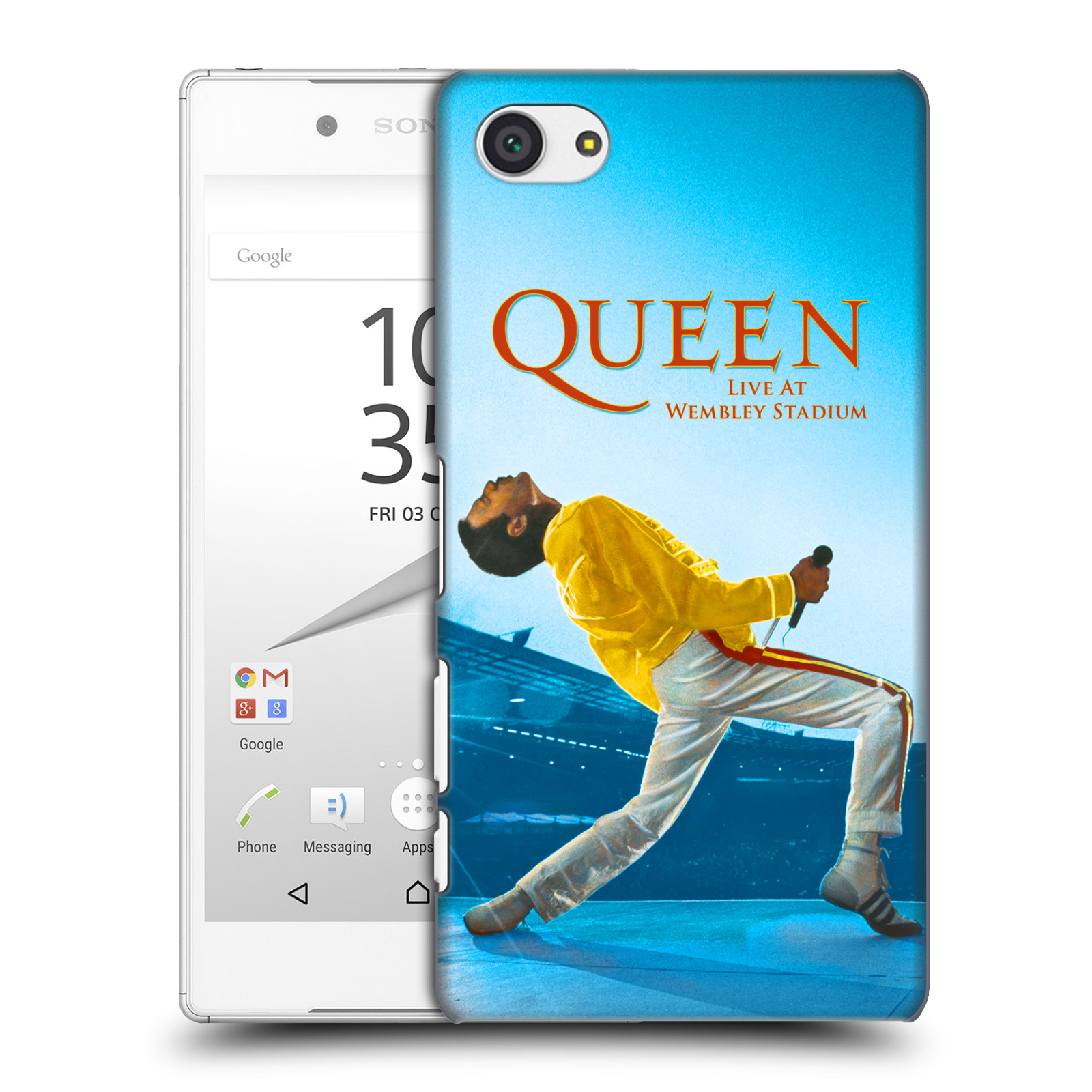 Plastové pouzdro na mobil Sony Xperia Z5 Compact HEAD CASE Queen - Freddie Mercury