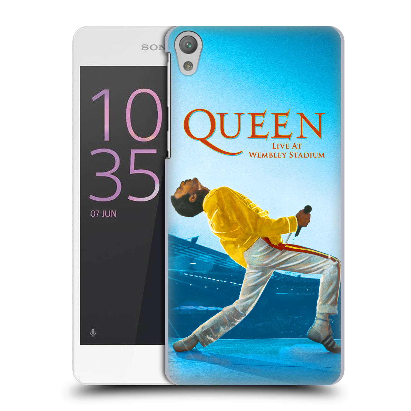 Plastové pouzdro na mobil Sony Xperia E5 HEAD CASE Queen - Freddie Mercury
